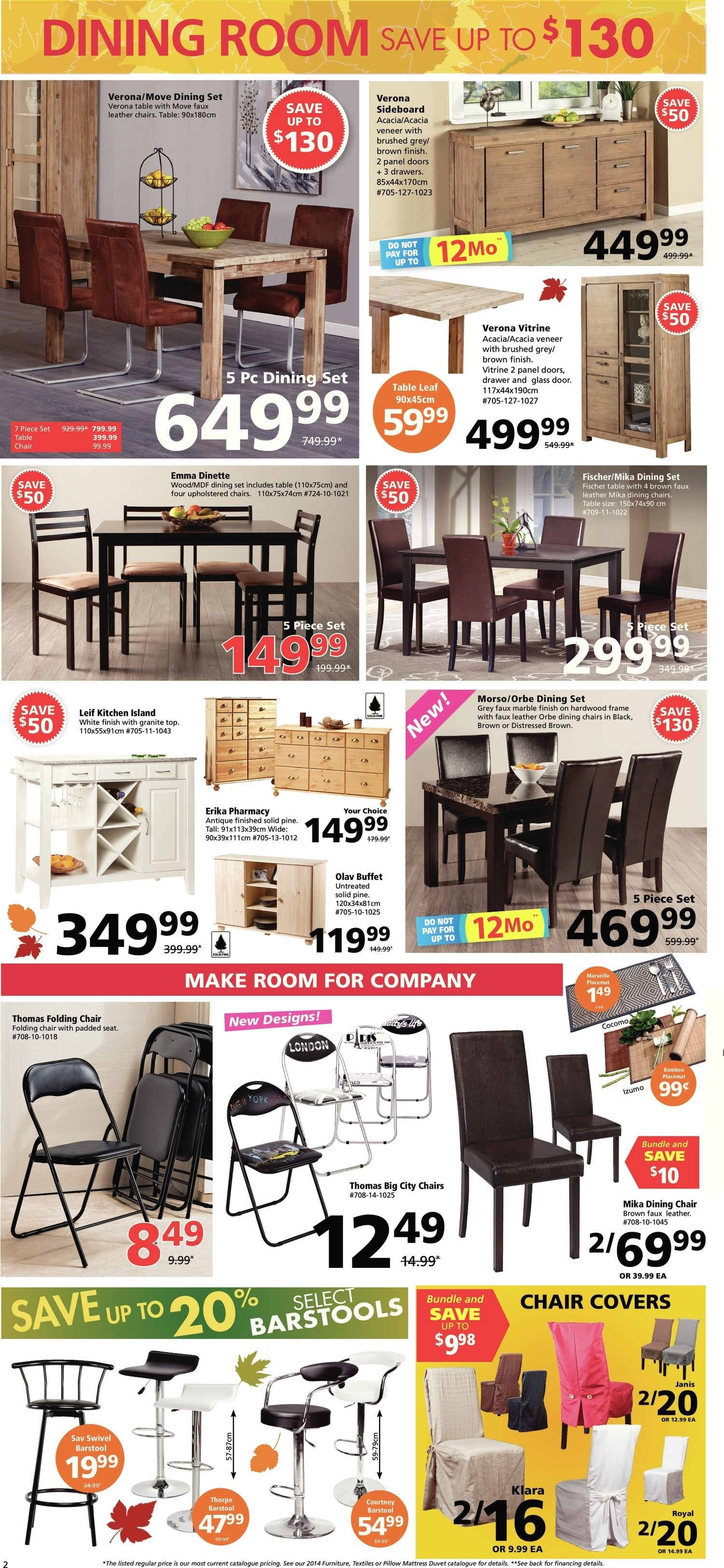 Jysk Weekly Flyer - Fall Into Savings - Oct 2 – 8 - Redflagdeals with Hartigan 2-Door Sideboards (Image 21 of 30)