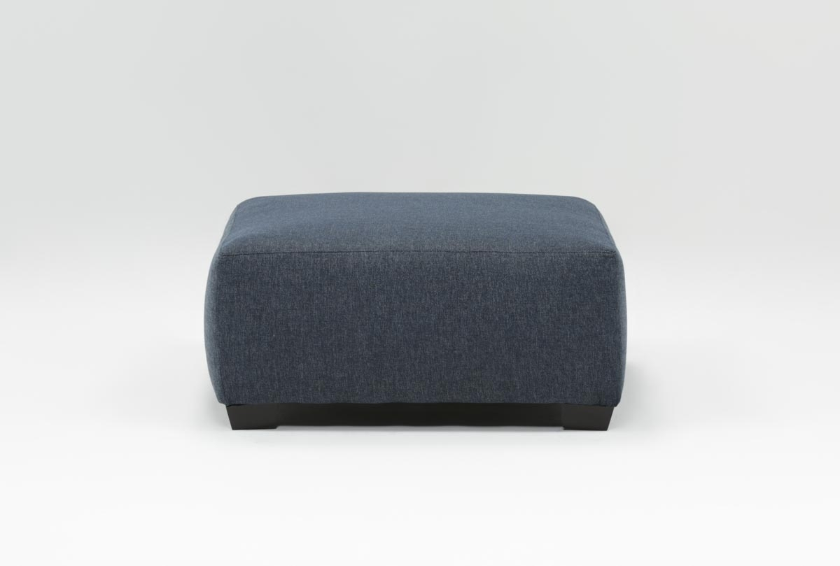 Karen Accent Ottoman | Living Spaces With Regard To Mcdade Graphite 2 Piece Sectionals With Raf Chaise (Photo 27 of 30)