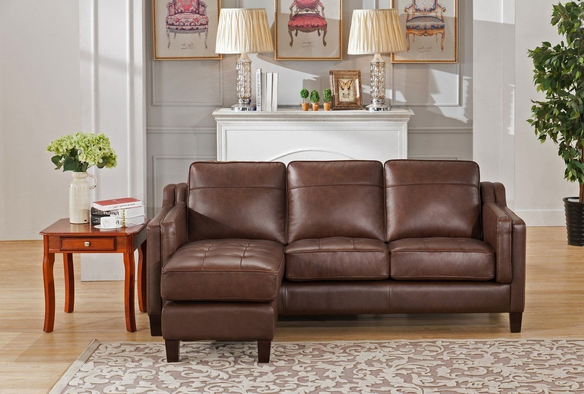 Katherine Leather Reversible Sectional | Pinterest | Living Spaces Within Collins Sofa Sectionals With Reversible Chaise (Photo 5 of 30)