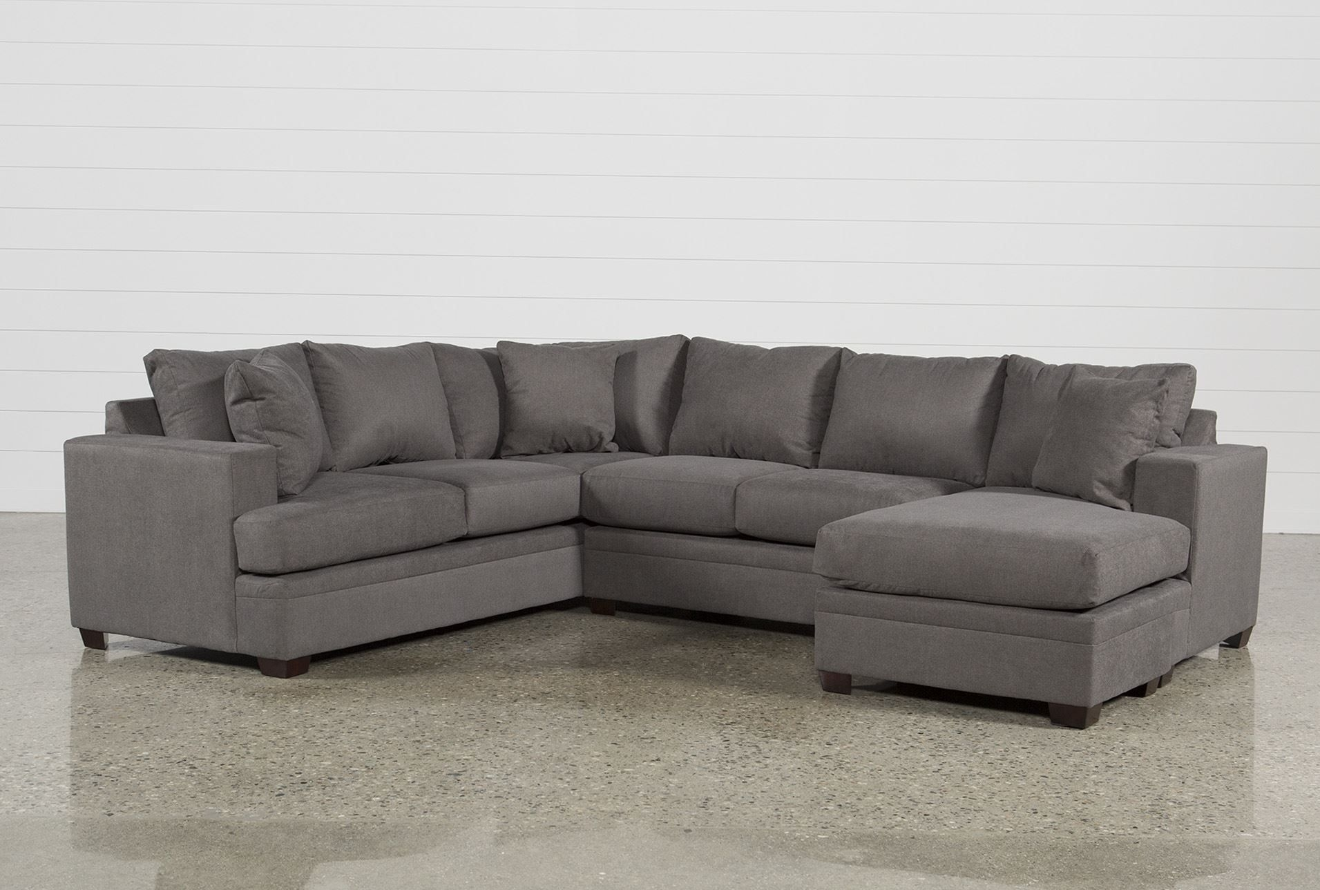 Kerri 2 Piece Sectional W/raf Chaise In 2018 | Products | Pinterest Intended For Lucy Grey 2 Piece Sectionals With Laf Chaise (Photo 3 of 30)