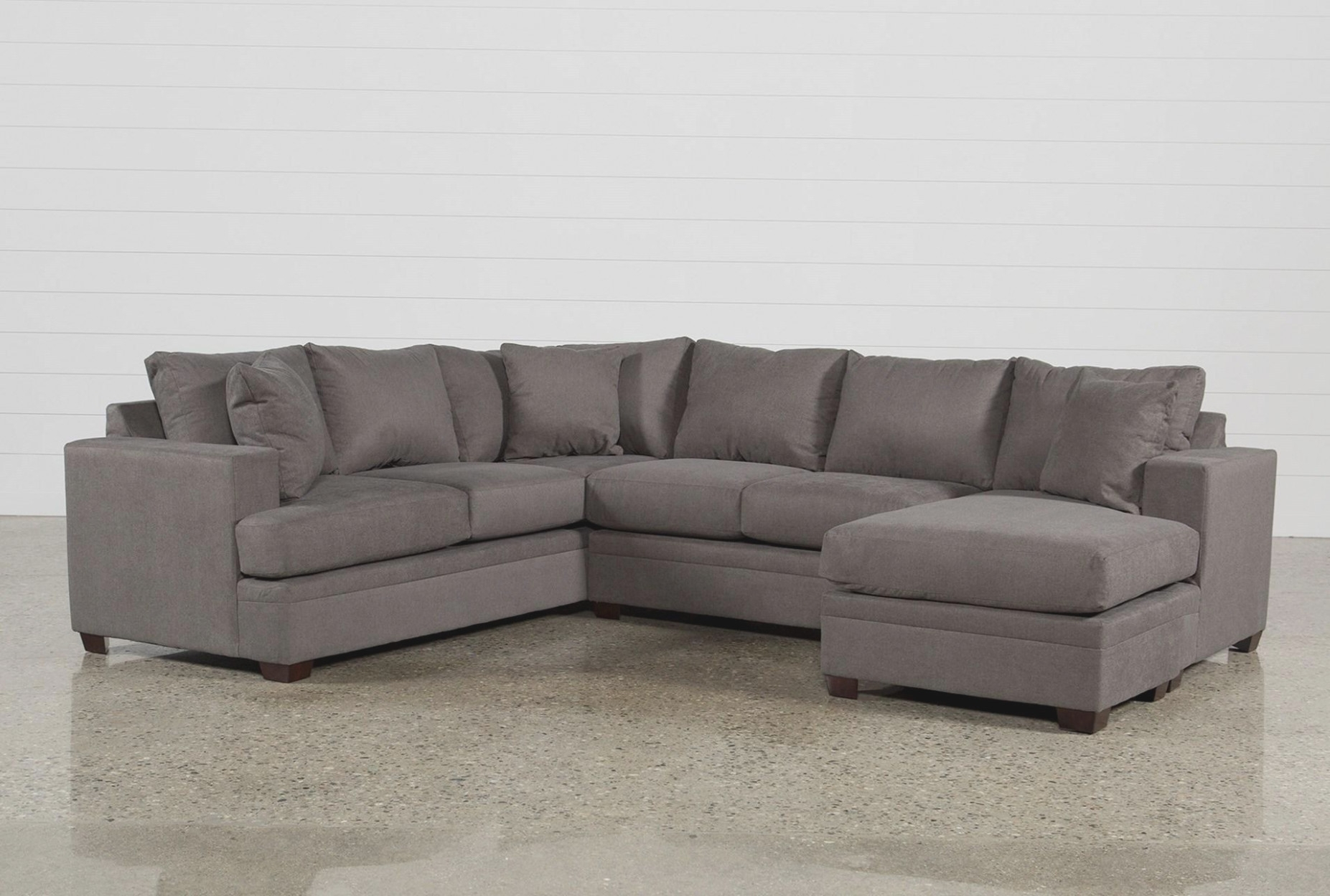 Kerri 39 Piece Sectional W/raf Chaise | Living Spaces - 2 Piece Sofa pertaining to Jobs Oat 2 Piece Sectionals With Left Facing Chaise (Image 16 of 30)