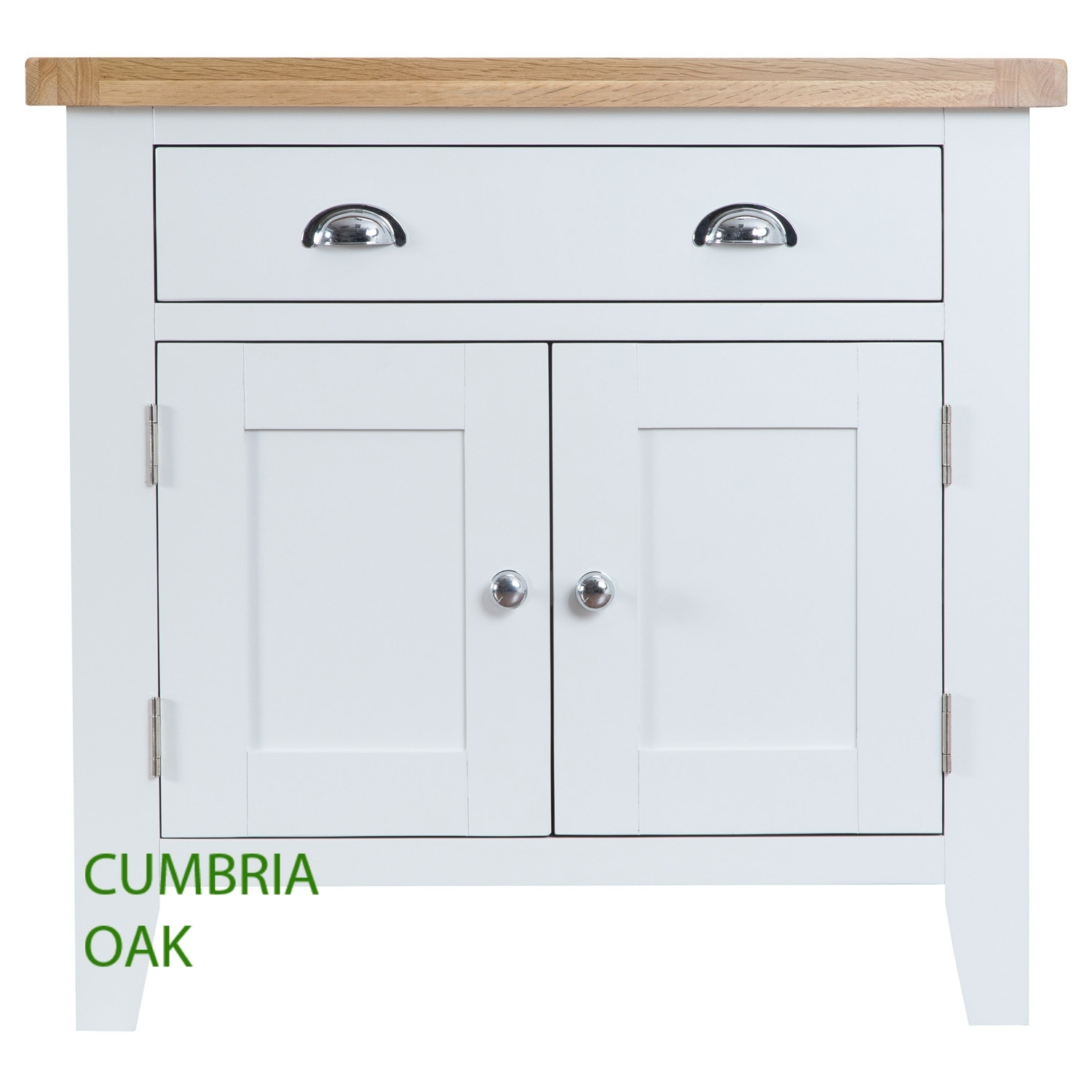 Kirkstone Oak Small Sideboard   Cumbria Oak Pertaining To Aged Brass Sideboards (Photo 30 of 30)