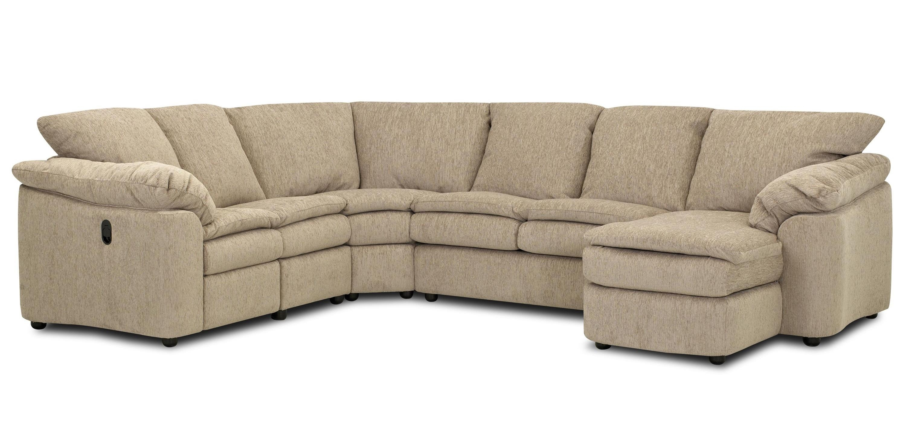Klaussner Legacy Dual Reclining Left Arm Loveseat, Sleeper And Right for Norfolk Chocolate 6 Piece Sectionals With Laf Chaise (Image 14 of 30)