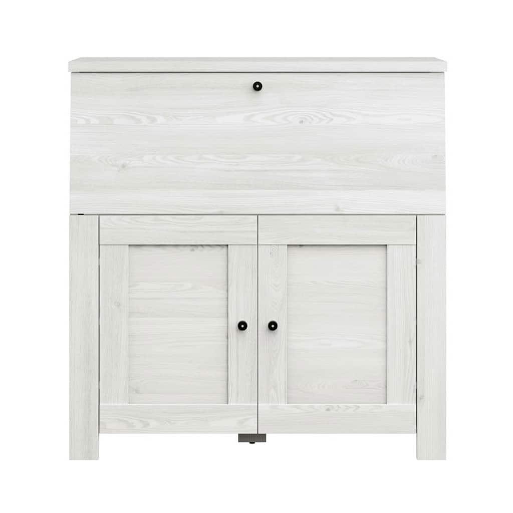 Kombinuota Komoda- Rašomasis Stalas (Laminatas) - Bekredito.lt throughout Koip 6 Door Sideboards (Image 24 of 30)