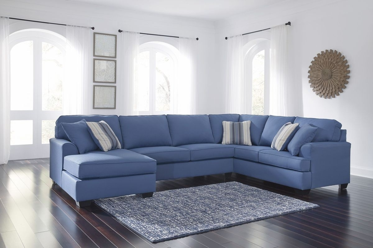 Laf Chaise Sectional Sofa | Baci Living Room within Malbry Point 3 Piece Sectionals With Laf Chaise (Image 23 of 30)