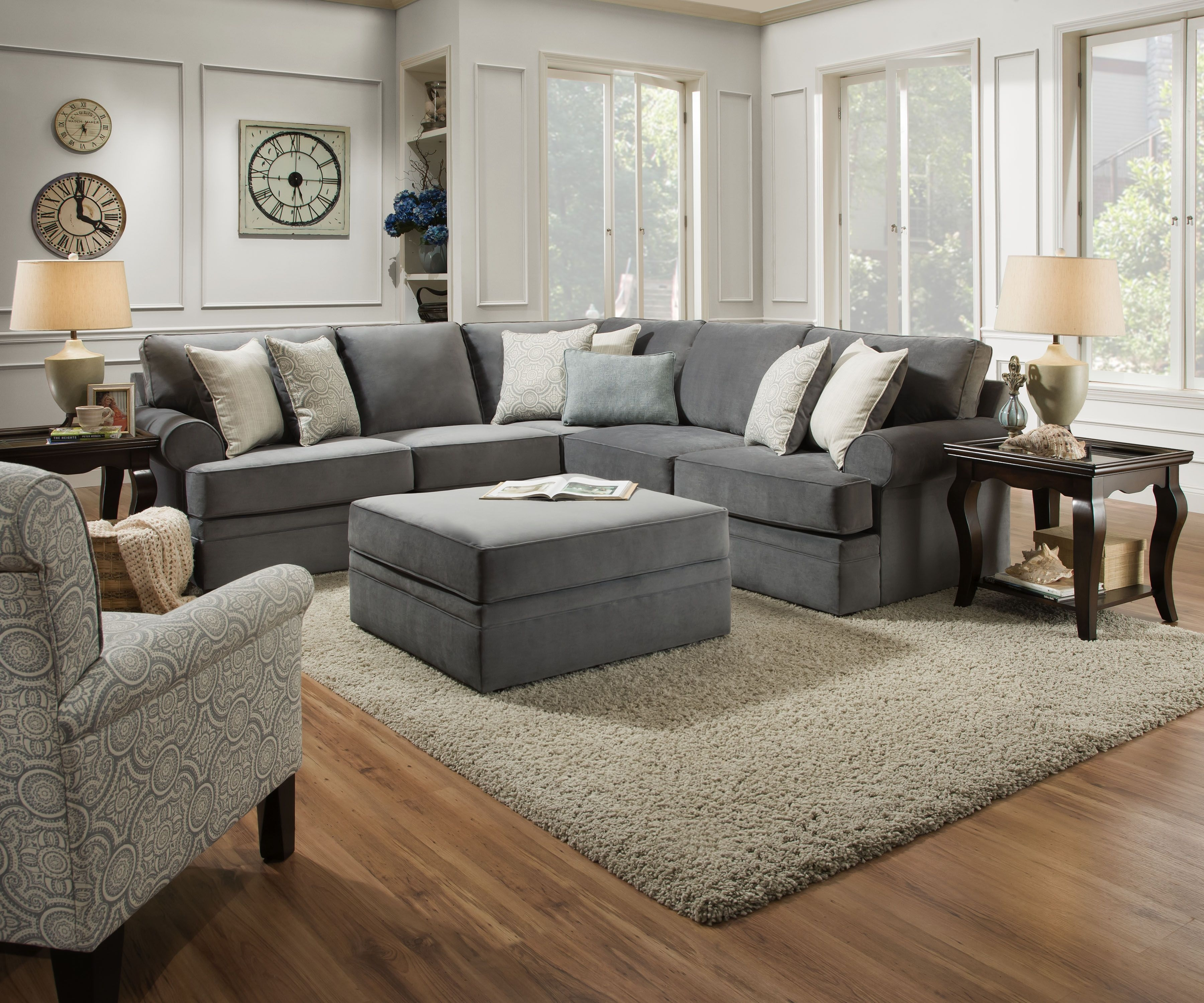Laf Sofa Seven Seas | Baci Living Room pertaining to Avery 2 Piece Sectionals With Raf Armless Chaise (Image 17 of 30)