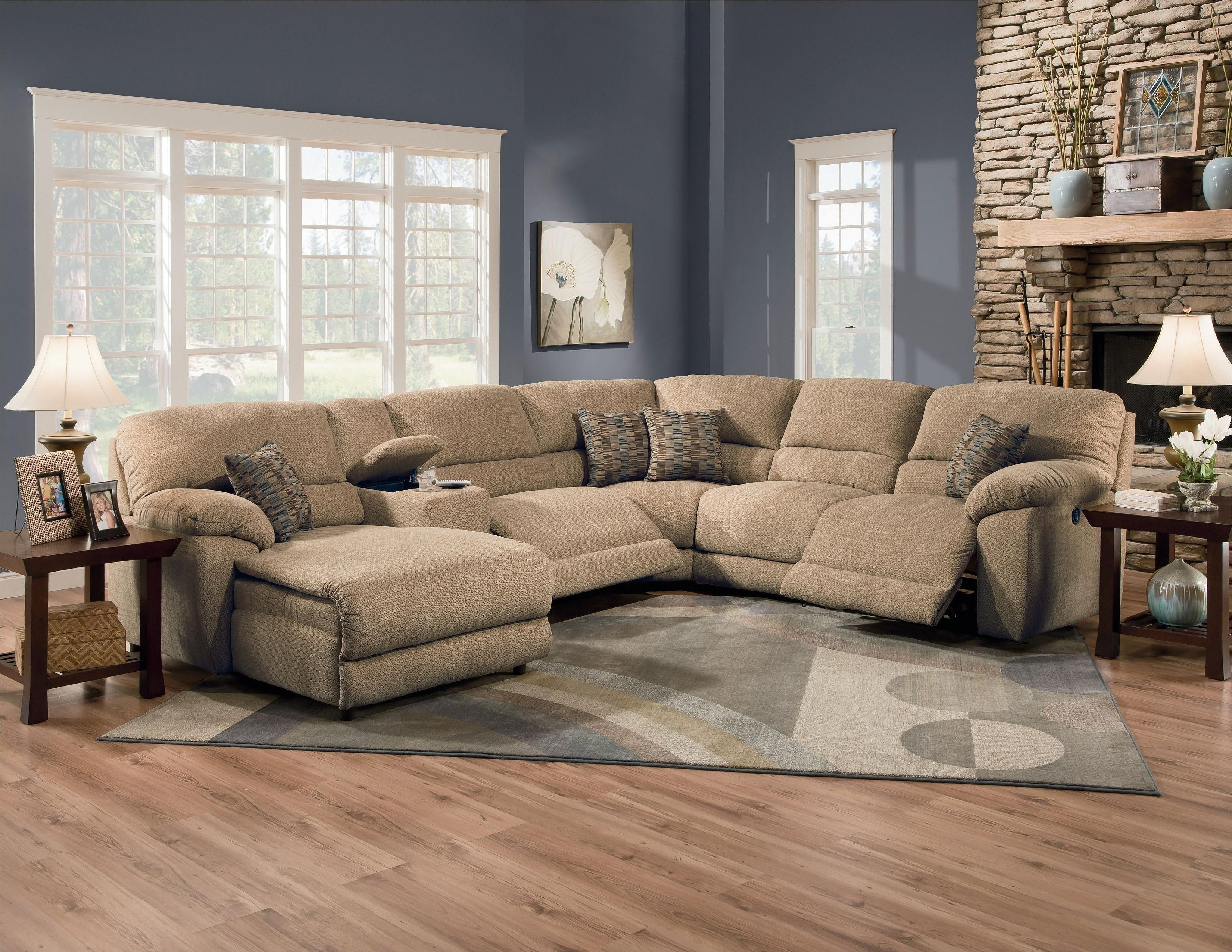 Lane Furniture: Rivers Collection Featuring Power Reclining inside Jackson 6 Piece Power Reclining Sectionals With  Sleeper (Image 13 of 30)