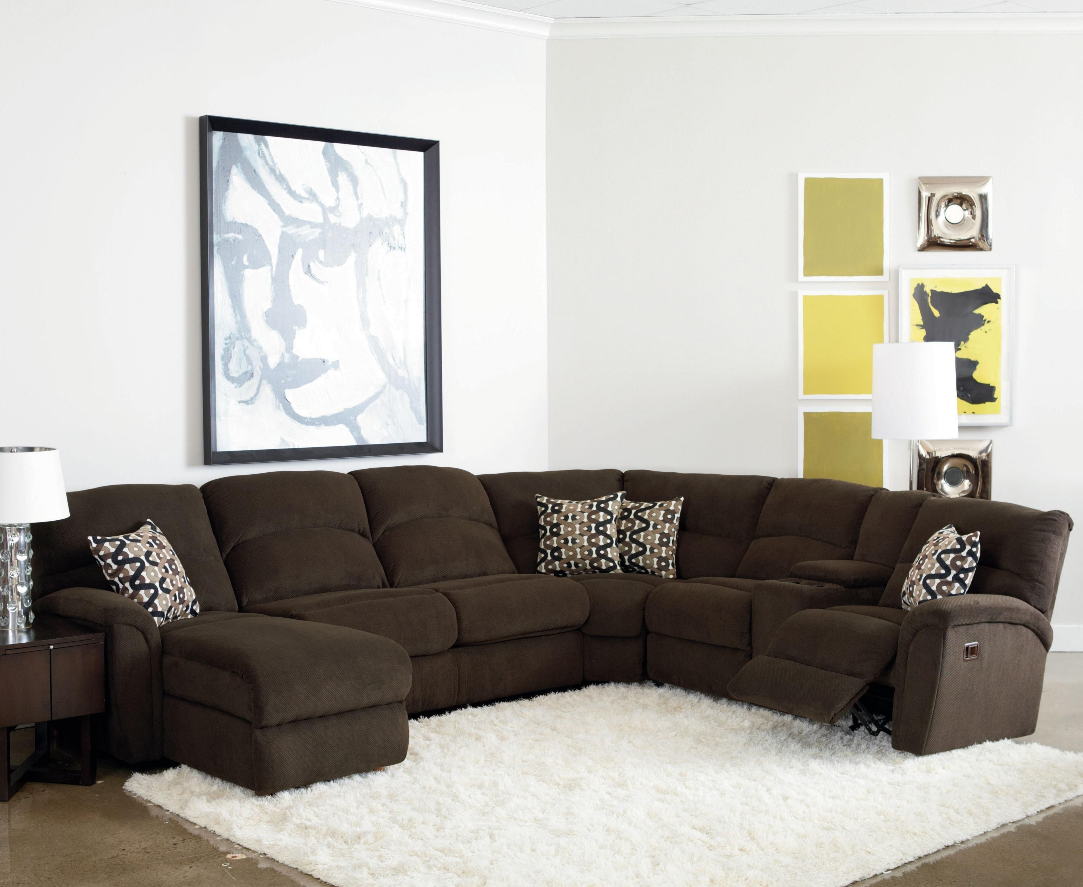 Lane Grand Torino Casual Four Piece Power Sectional Sofa W/ Full inside Jackson 6 Piece Power Reclining Sectionals With  Sleeper (Image 14 of 30)