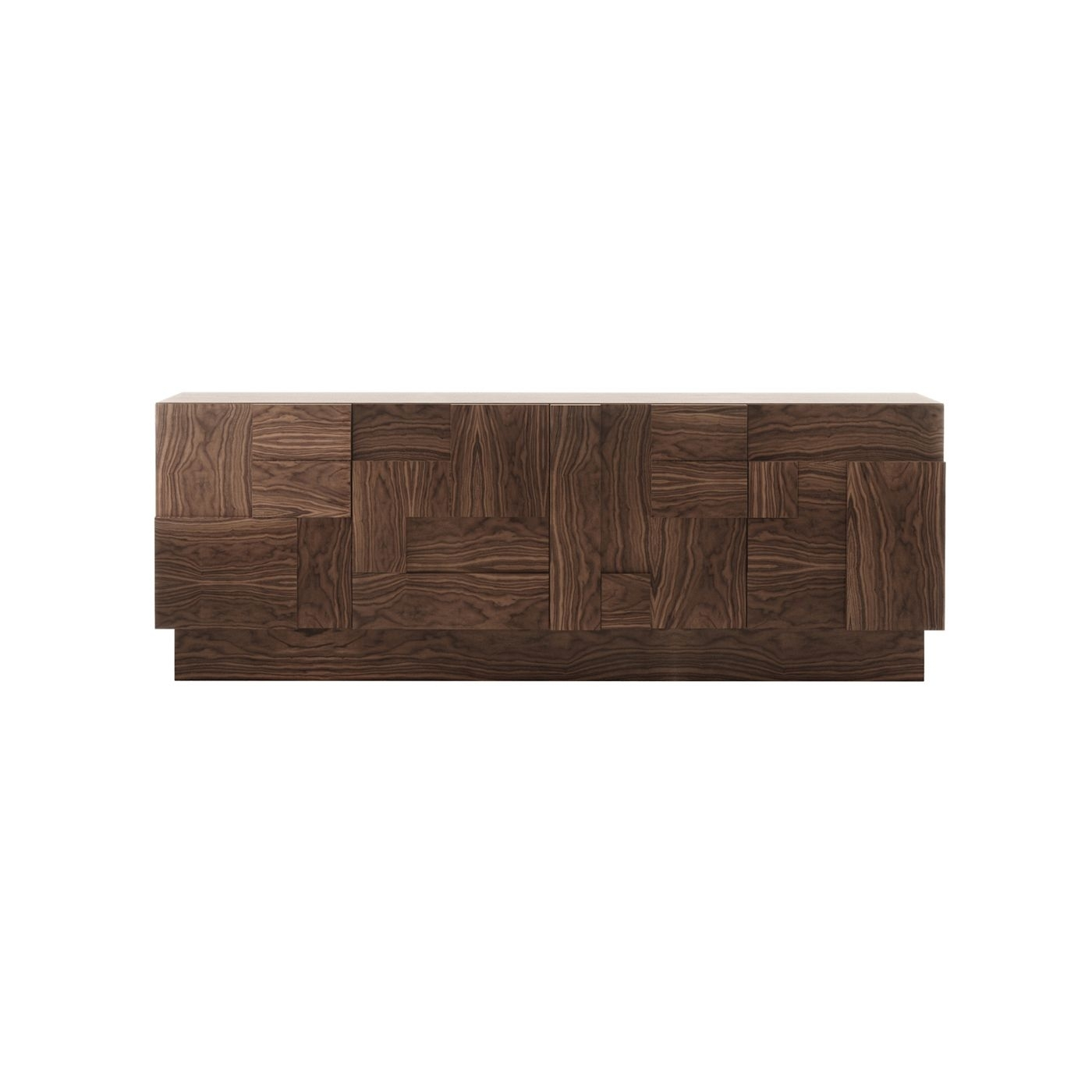 Laskasas | Decorar A Vida This Stunning Wooden Sideboard Has Four In Ironwood 4 Door Sideboards (View 17 of 30)
