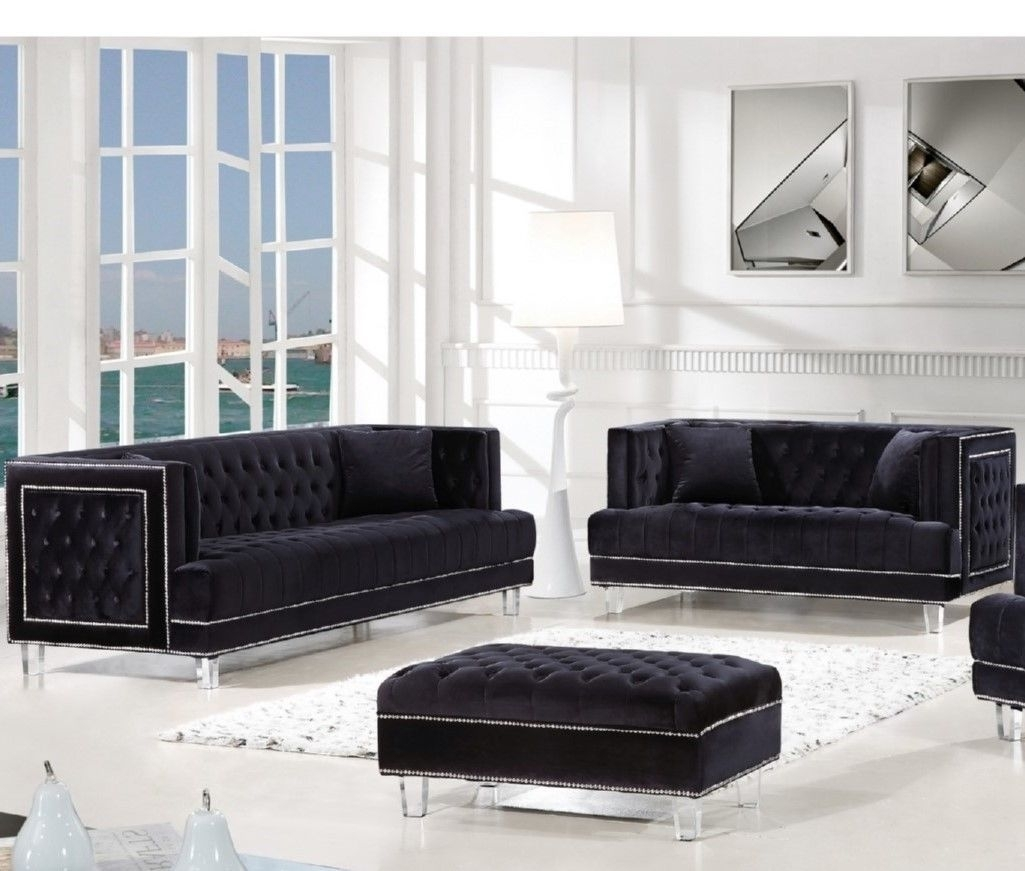 Latitude Run Whitner Sectional With Ottoman intended for Avery 2 Piece Sectionals With Raf Armless Chaise (Image 19 of 30)