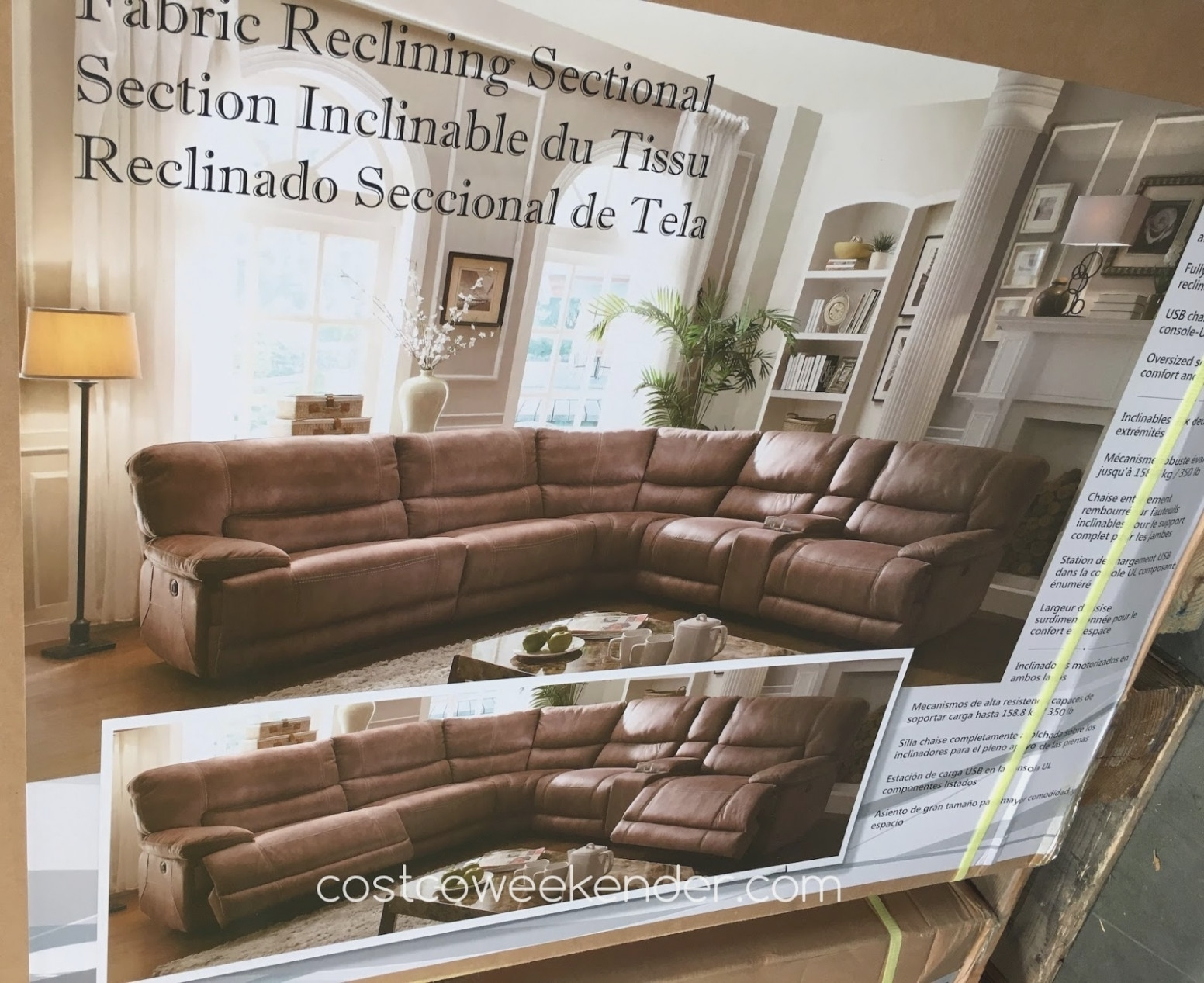 Learn All About Fabric Sectional | Interior Design Information inside Denali Light Grey 6 Piece Reclining Sectionals With 2 Power Headrests (Image 18 of 30)