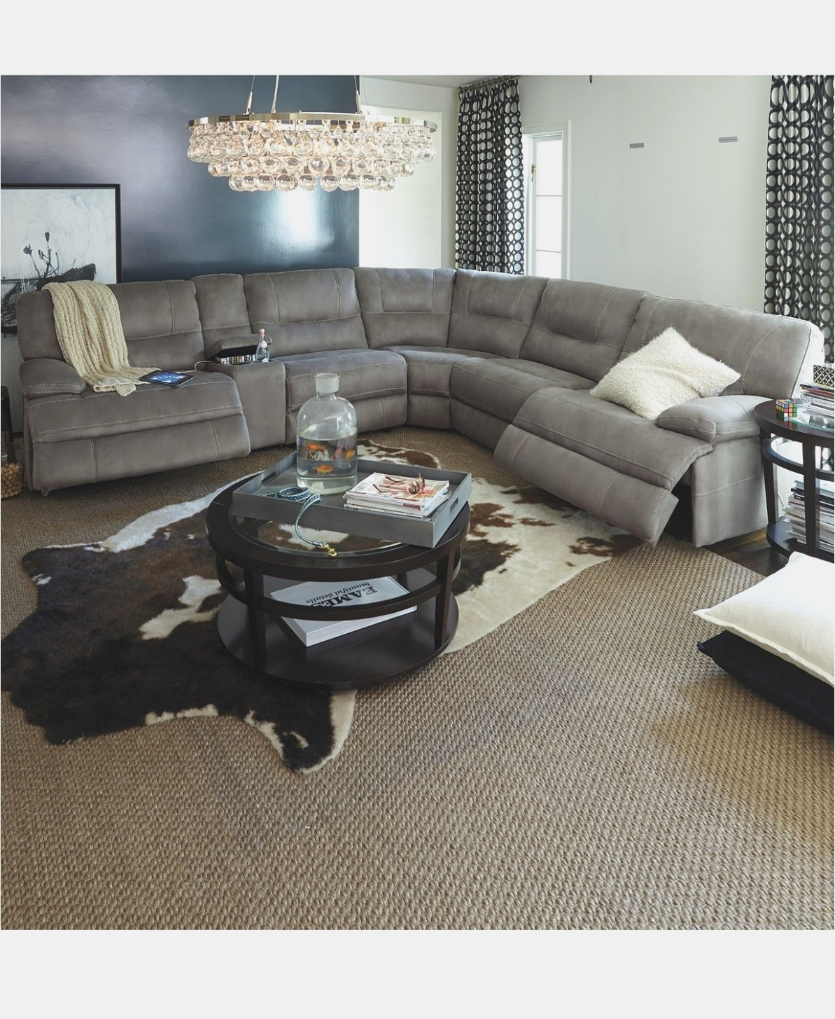 Learn All About Fabric Sectional   Interior Design Information with Denali Light Grey 6 Piece Reclining Sectionals With 2 Power Headrests (Image 21 of 30)