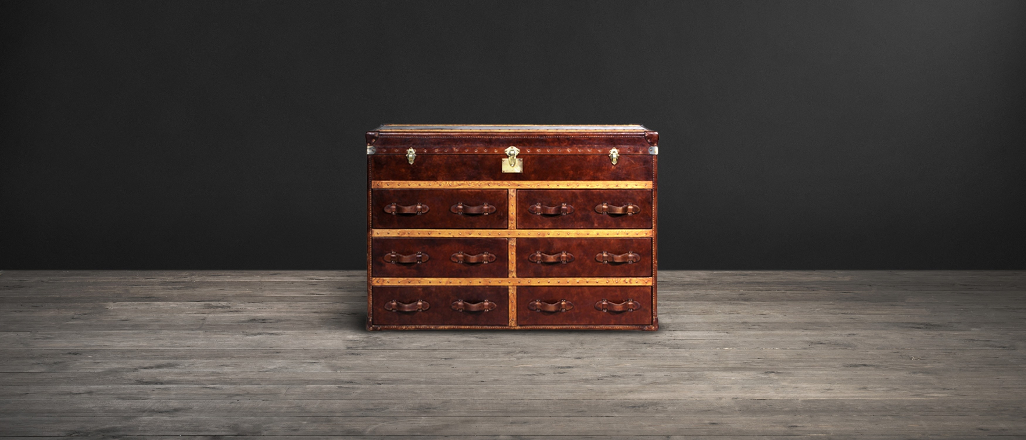 Leather Sideboards - Ampleforth | Timothy Oulton intended for Vintage Brown Textured Sideboards (Image 11 of 30)