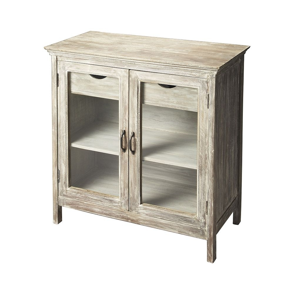 Lesley Anne Sideboard :: $708.99, Retail $1180 (40% Off) | Dot & Bo in White Wash 4-Door Galvanized Sideboards (Image 17 of 30)
