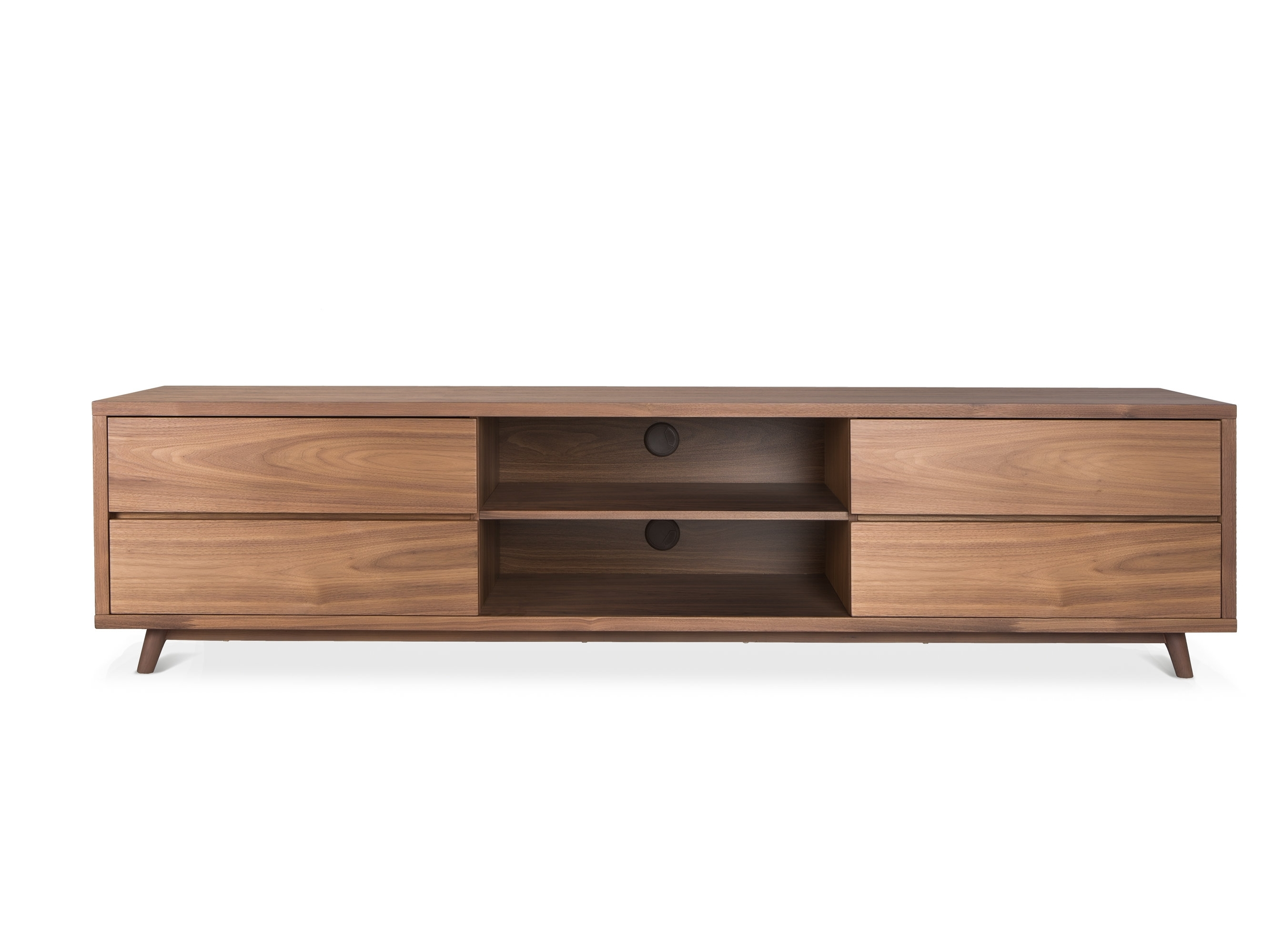 "Lievo Mason 78.7"" Tv Stand | Wayfair within Mid Burnt Oak 71 Inch Sideboards (Image 11 of 30)"
