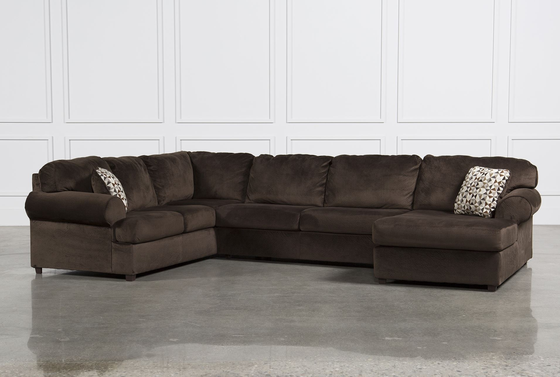 Living Room: Elegant Ashley Leather Sectional Sofa For Comfortable regarding Glamour Ii 3 Piece Sectionals (Image 17 of 30)