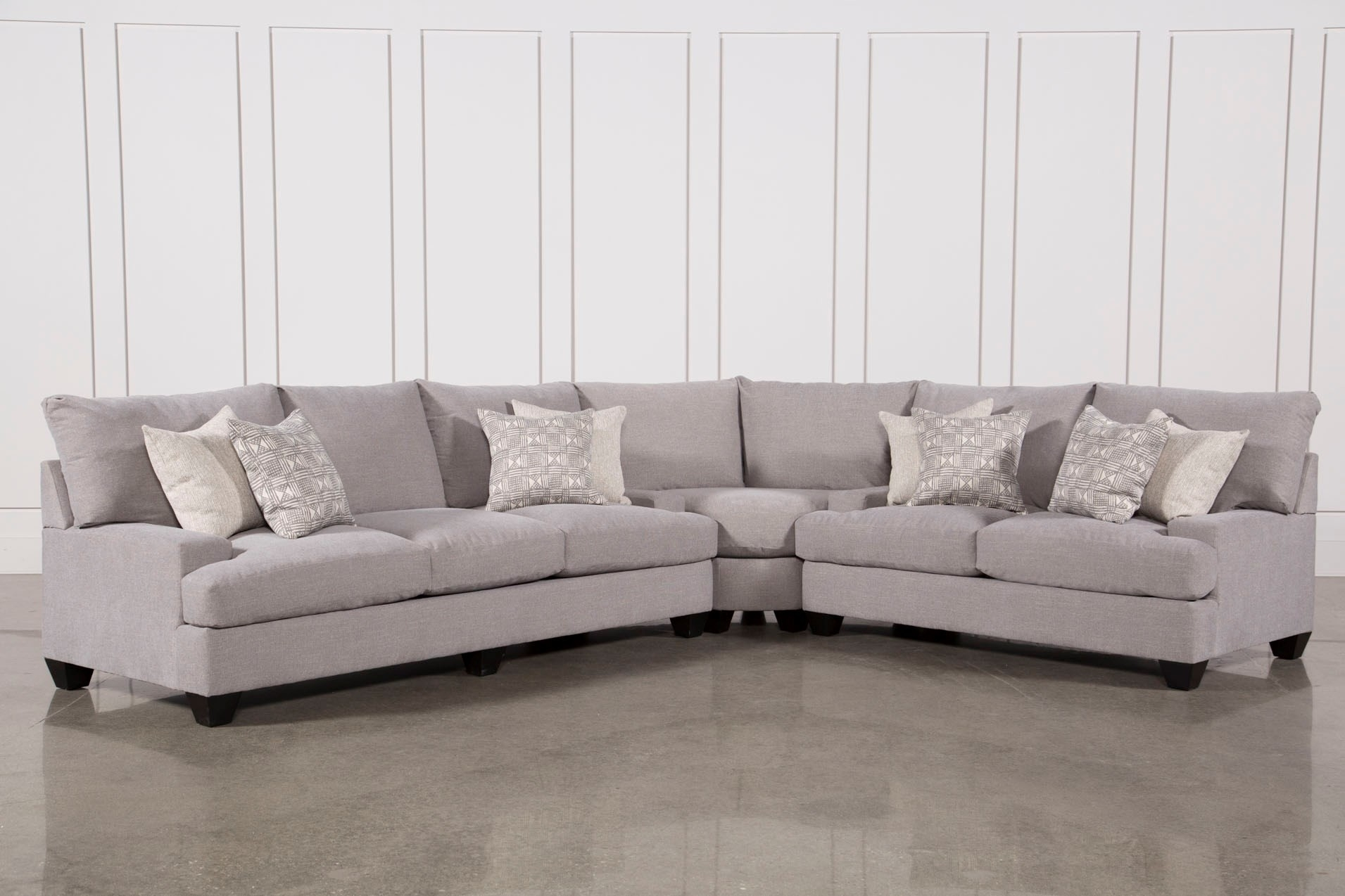 Living Spaces Sectional Alder 4 Piece Youtube Maxresdefault throughout Alder 4 Piece Sectionals (Image 19 of 30)