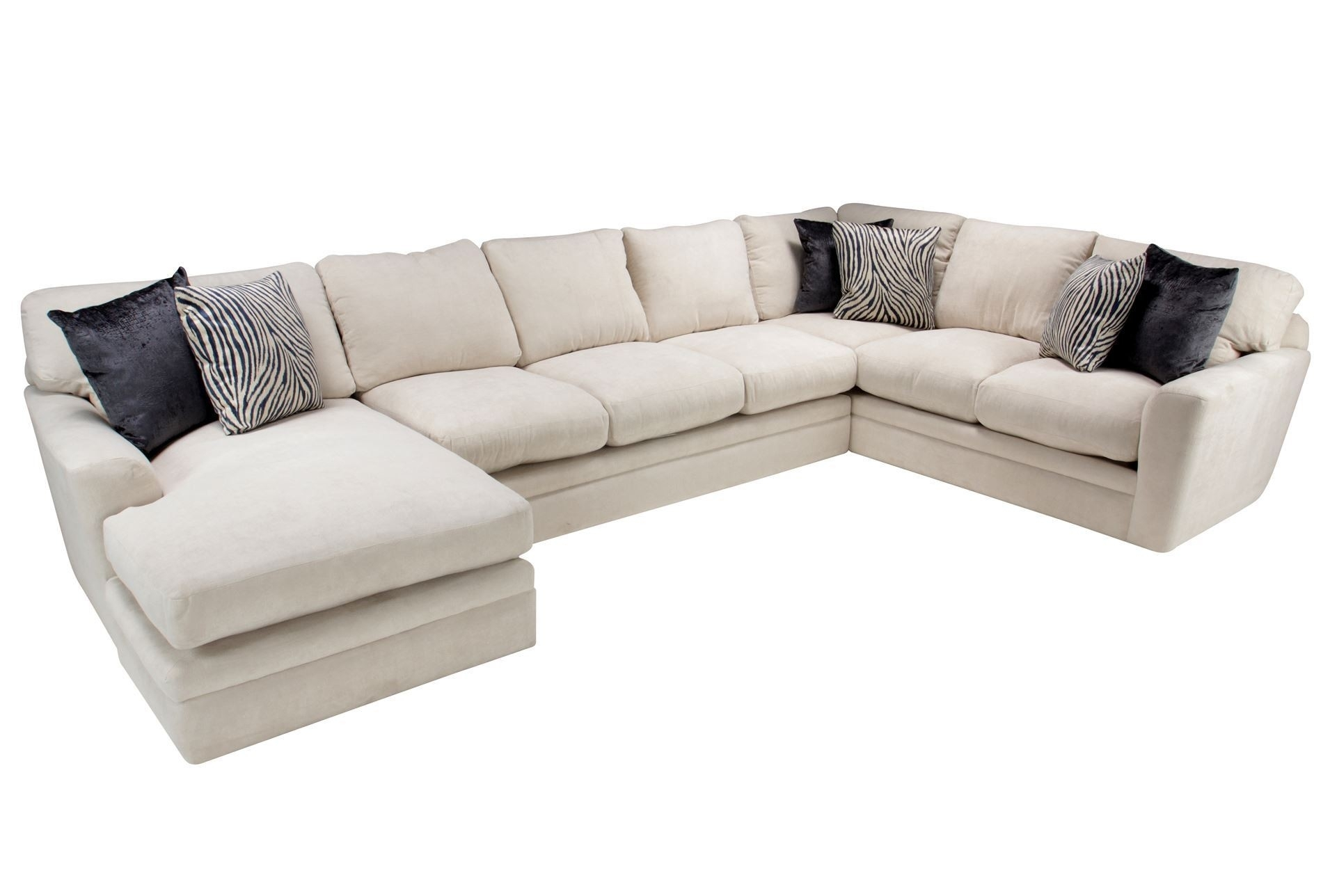 Living Spaces Sectional Couches Delano 2 Piece W Laf Oversized for Delano 2 Piece Sectionals With Laf Oversized Chaise (Image 22 of 30)
