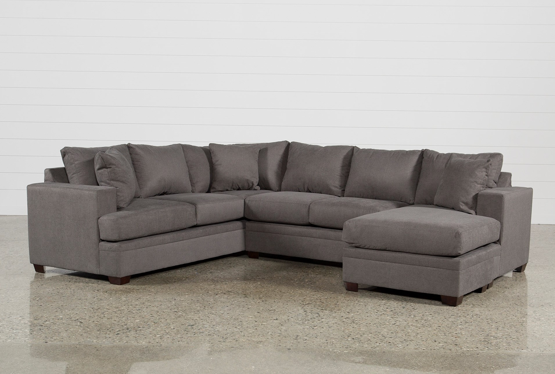 Living Spaces Sectional - Implantologiabogota.co with Josephine 2 Piece Sectionals With Raf Sofa (Image 14 of 30)