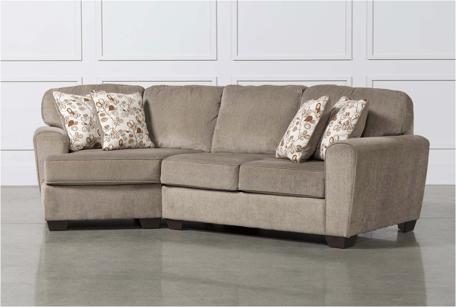 Living Spaces Sectional Sofa Bed - Sofa Design Ideas within Aquarius Light Grey 2 Piece Sectionals With Raf Chaise (Image 19 of 30)