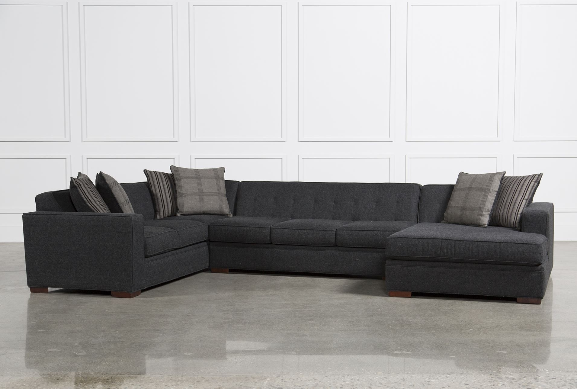Living Spaces Sectional Sofas - Implantologiabogota.co within Delano 2 Piece Sectionals With Laf Oversized Chaise (Image 25 of 30)