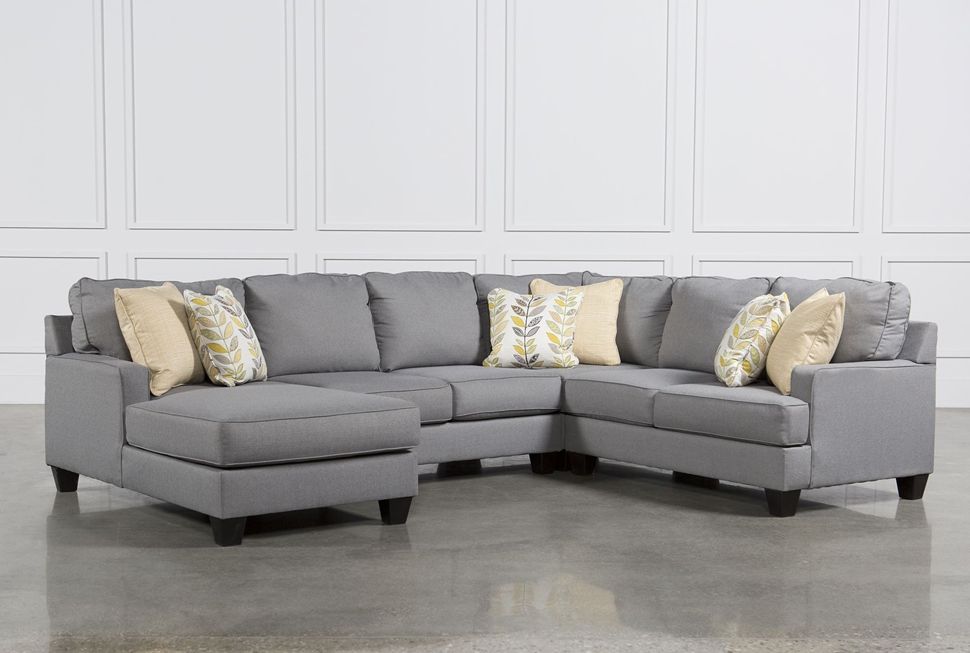 Living Spaces Sectional Sofas - Implantologiabogota.co within Haven 3 Piece Sectionals (Image 24 of 32)