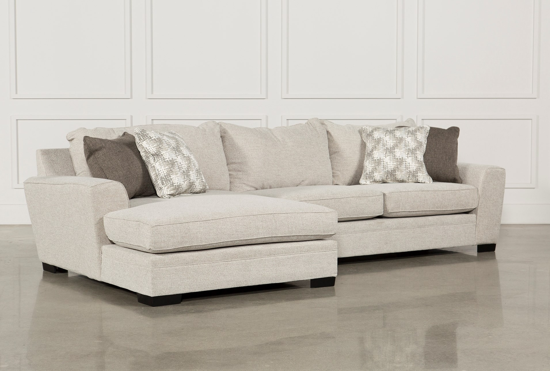 Living Spaces Sectional Sofas Kerri 2 Piece W Raf Chaise 107153 0 pertaining to Kerri 2 Piece Sectionals With Raf Chaise (Image 25 of 30)