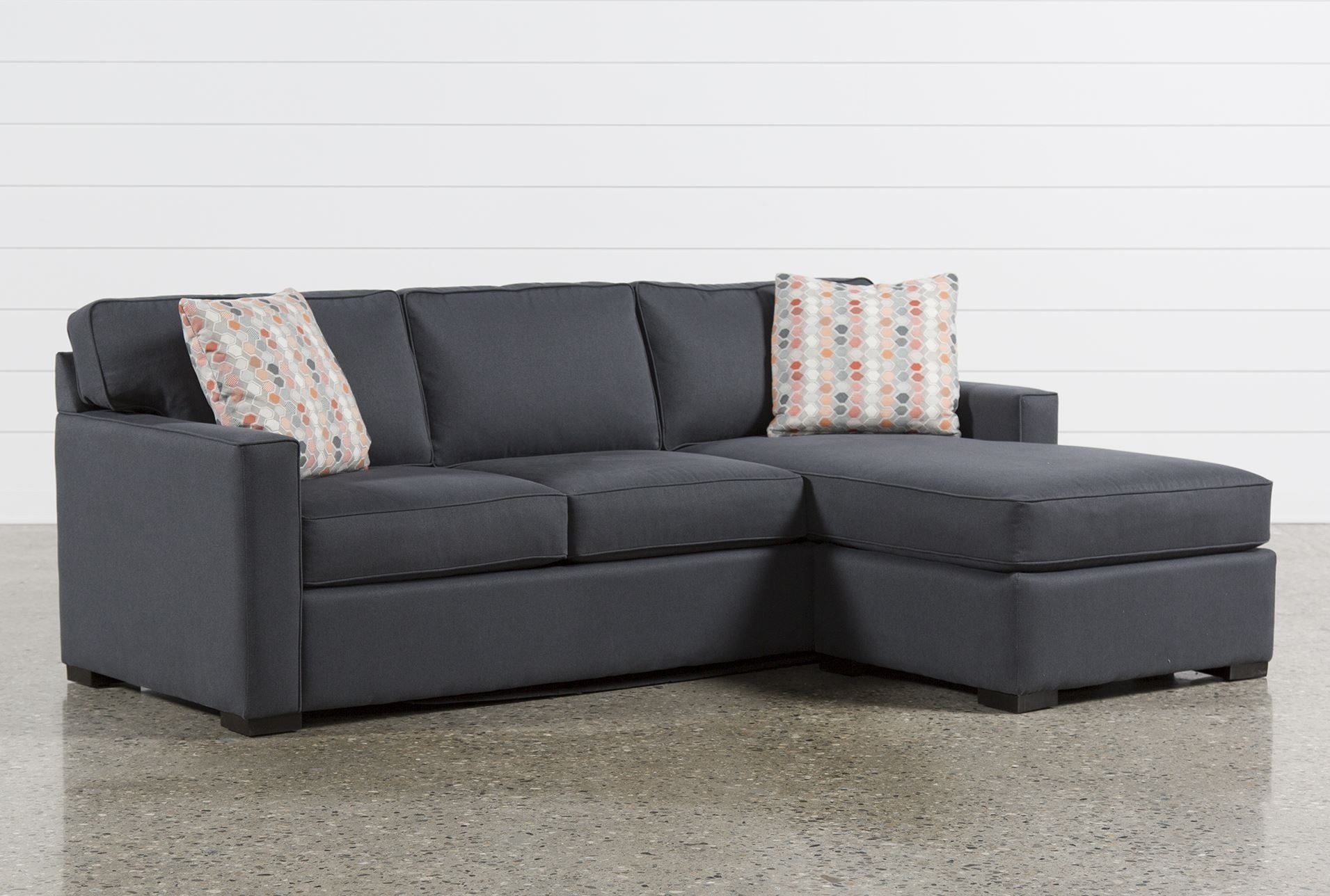 Living Spaces Sectional - Tidex in Alder 4 Piece Sectionals (Image 17 of 30)