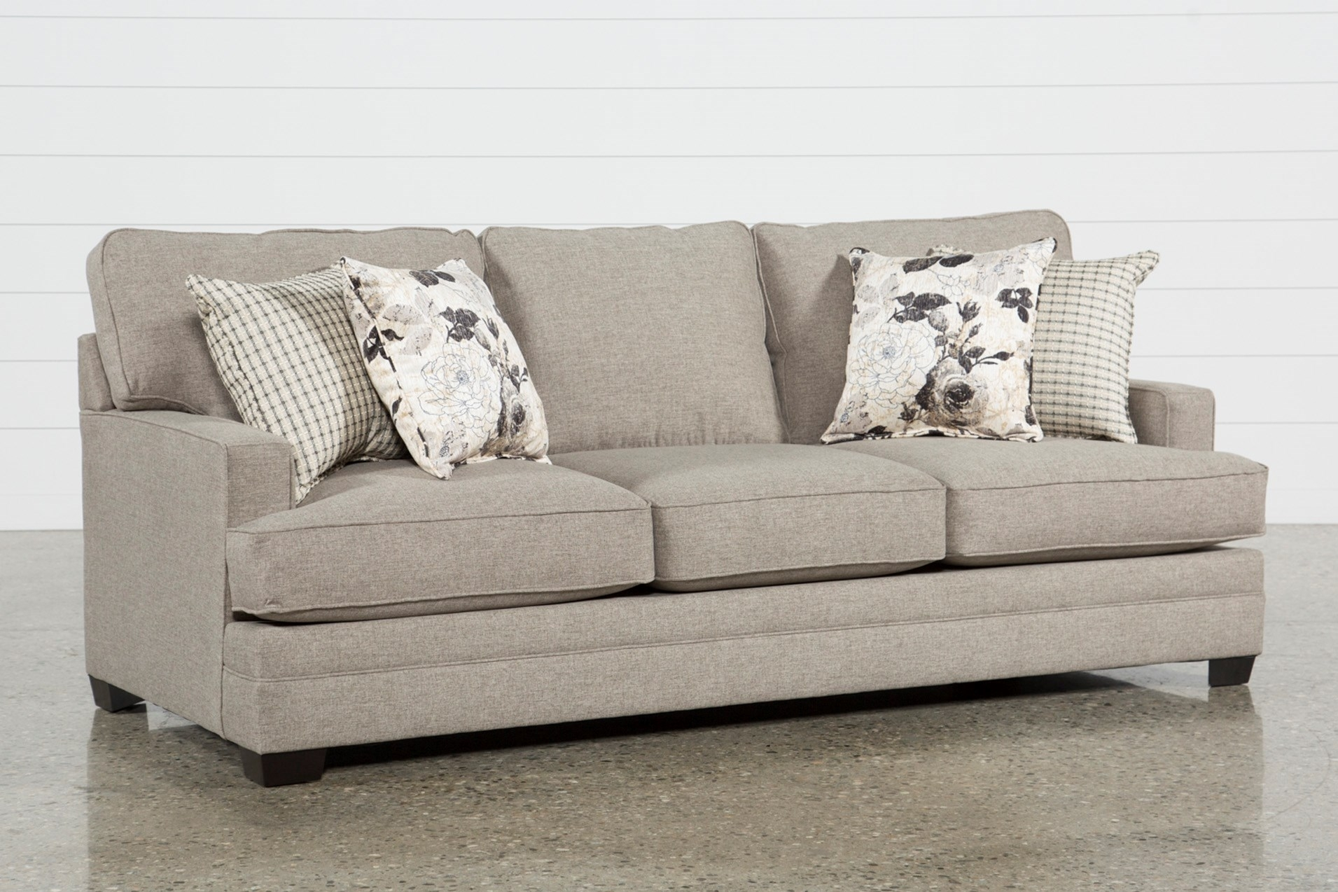 Living Spaces Sofas Attractive Josephine Sofa With Regard To 5 inside Alder 4 Piece Sectionals (Image 21 of 30)