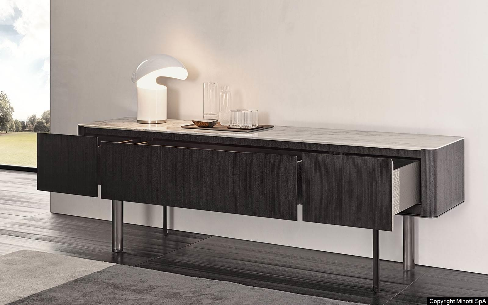 Lou Sideboard - Minotti | Dedece pertaining to Parrish Sideboards (Image 17 of 30)