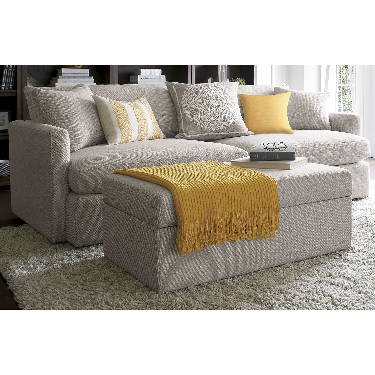 Lounge Ii Storage Ottoman With Tray | My Future Home | Pinterest regarding Declan 3 Piece Power Reclining Sectionals With Right Facing Console Loveseat (Image 23 of 30)