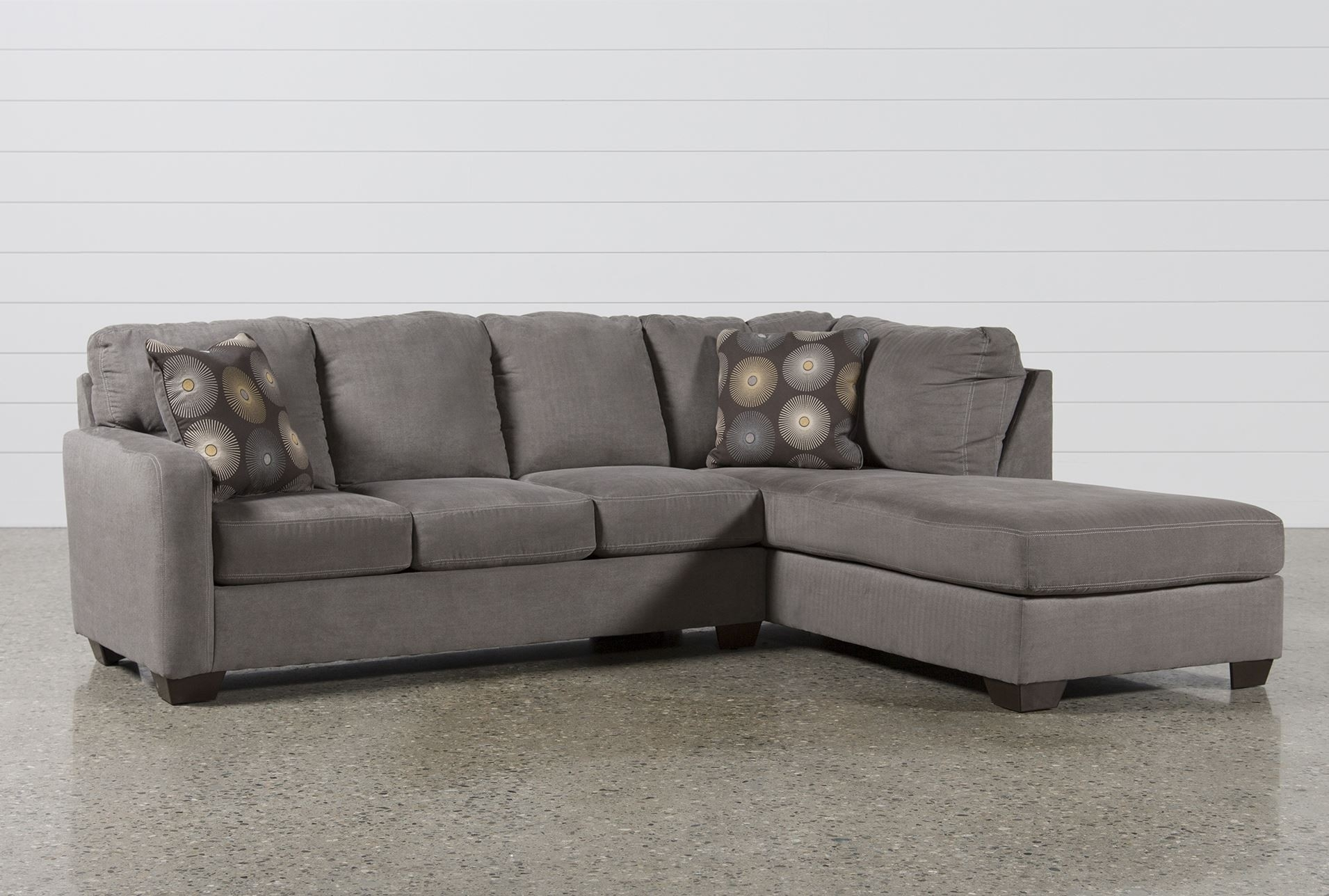 Lovely 2 Piece Sectional Sofa - Buildsimplehome regarding Evan 2 Piece Sectionals With Raf Chaise (Image 23 of 30)