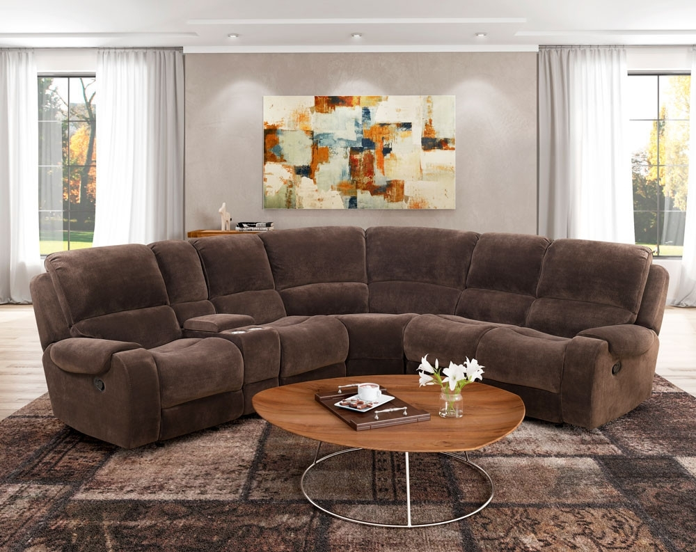 Lubbock Chocolate Motion Sectional | American Freight intended for Norfolk Chocolate 6 Piece Sectionals (Image 18 of 30)