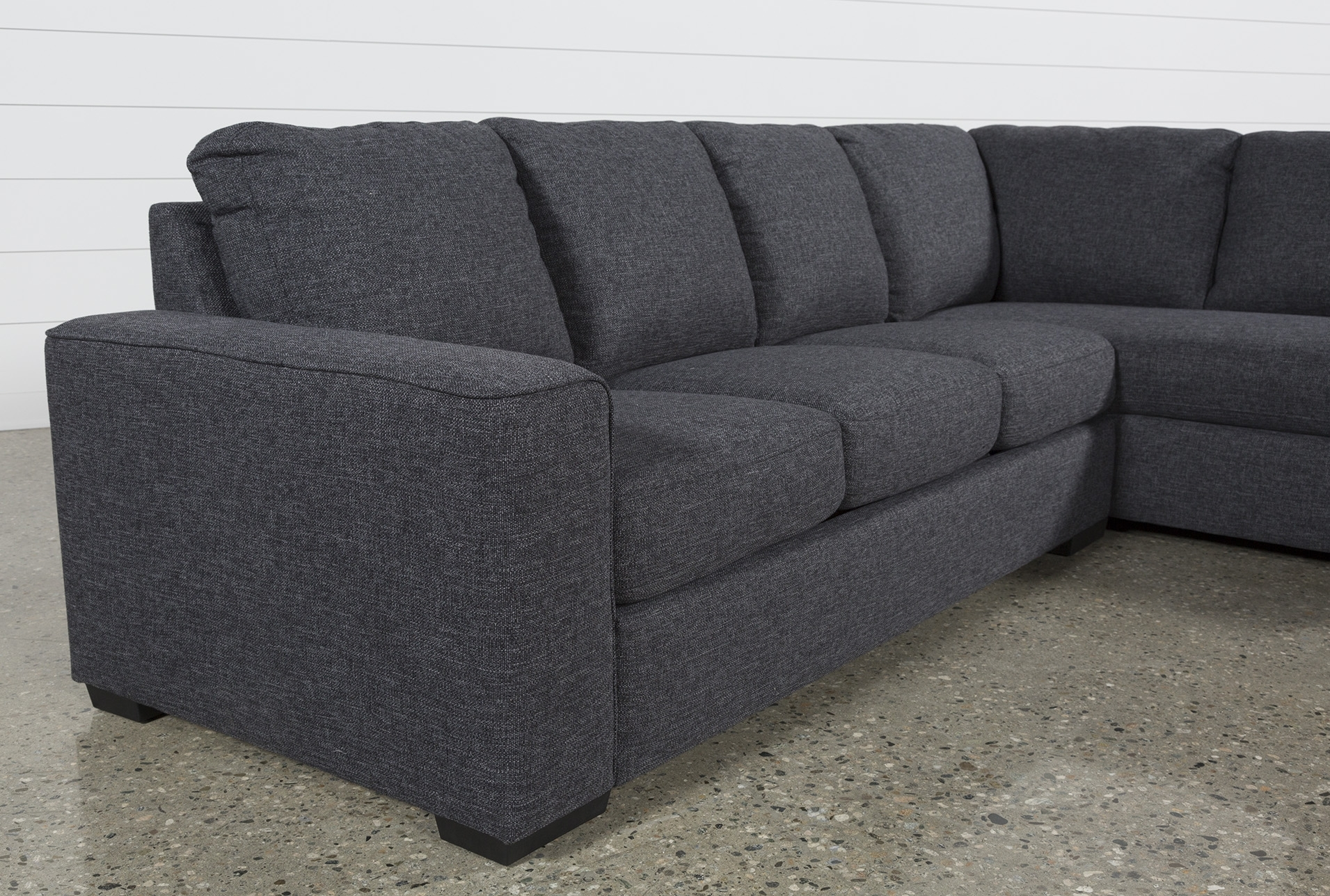 Lucy Dark Grey 2 Piece Sectional W/raf Chaise | Products | Pinterest intended for Lucy Grey 2 Piece Sleeper Sectionals With Laf Chaise (Image 17 of 30)