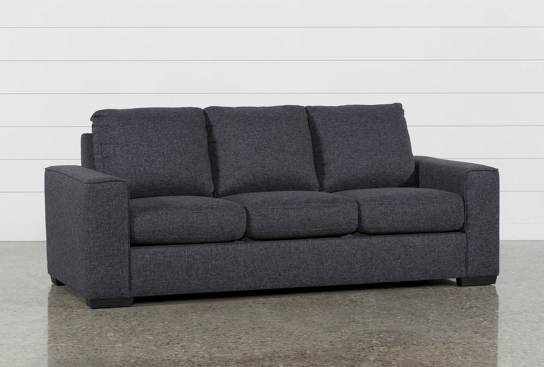 Lucy Dark Grey Sofa | Home Decor | Pinterest | Living Spaces, Living inside Lucy Dark Grey 2 Piece Sleeper Sectionals With Raf Chaise (Image 17 of 30)