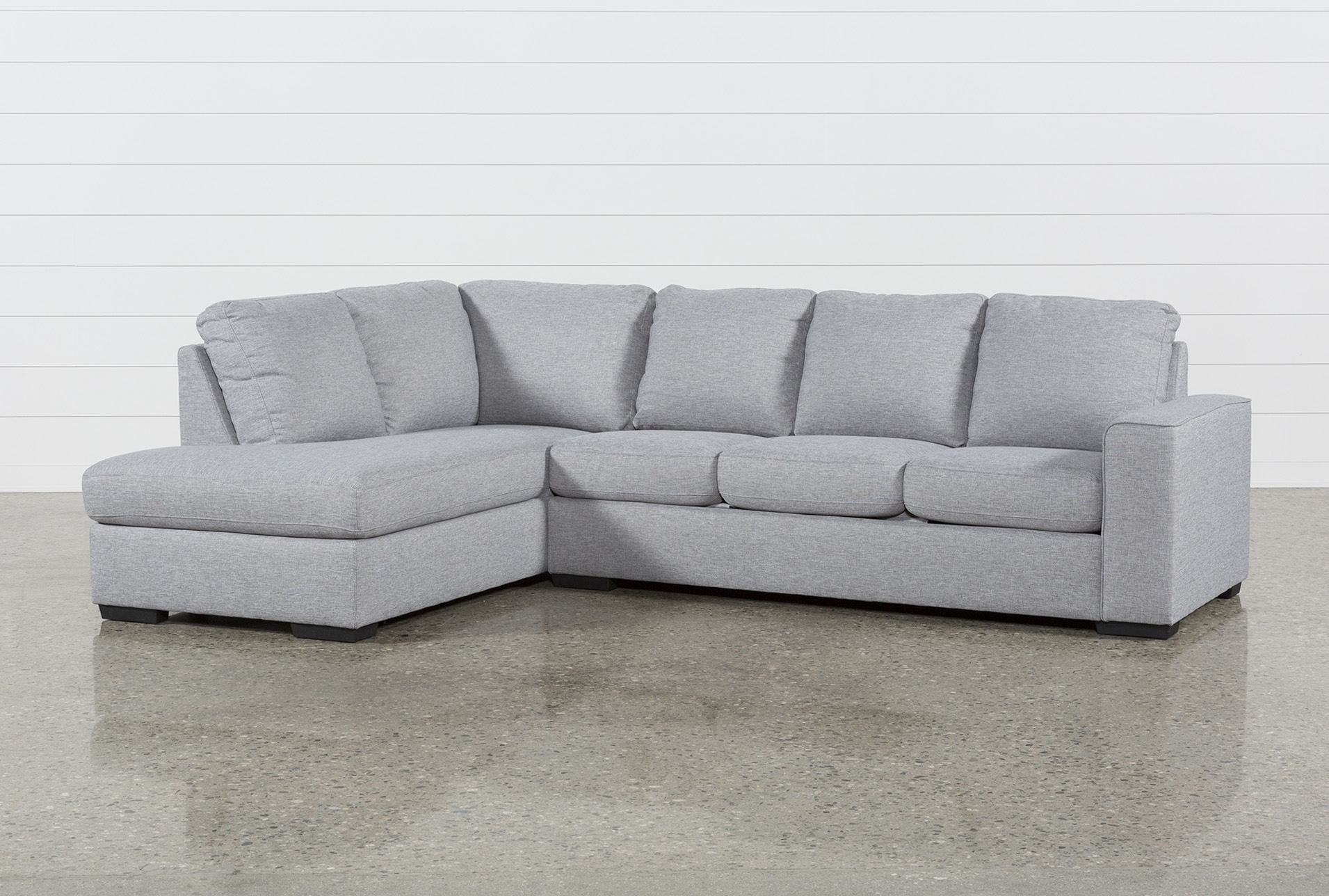 Lucy Grey 2 Piece Sectional W/laf Chaise | Products in Arrowmask 2 Piece Sectionals With Sleeper & Right Facing Chaise (Image 16 of 30)