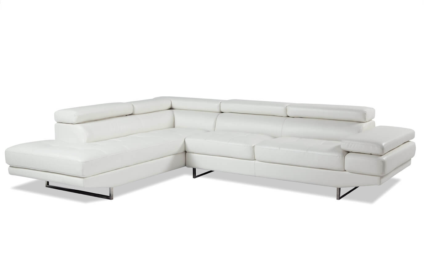 Luna 2 Piece Right Arm Facing Sectional | Bob's Discount Furniture within Lucy Grey 2 Piece Sleeper Sectionals With Laf Chaise (Image 24 of 30)