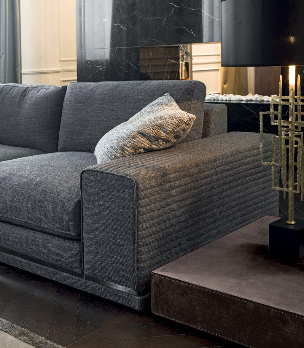 Luxury Italian Designer Cohen Sectional - Italian Designer & Luxury inside Cohen Down 2 Piece Sectionals (Image 13 of 30)