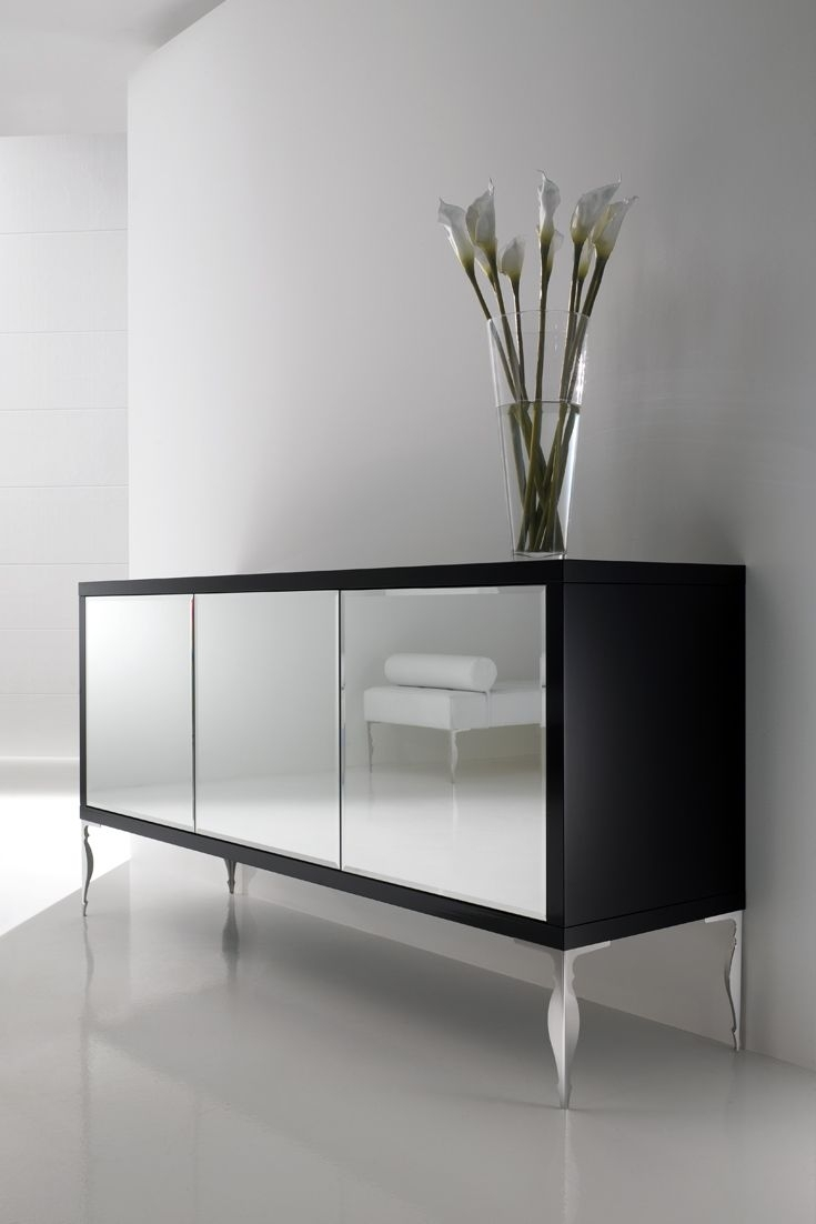 Luxury Mirrored Sideboard | Consoles | Pinterest | Sideboard inside Capiz Refinement Sideboards (Image 14 of 30)