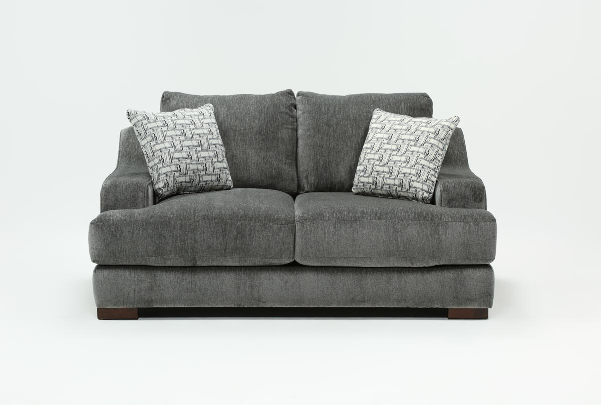 Maddox Loveseat | Living Spaces in Turdur 2 Piece Sectionals With Laf Loveseat (Image 16 of 30)
