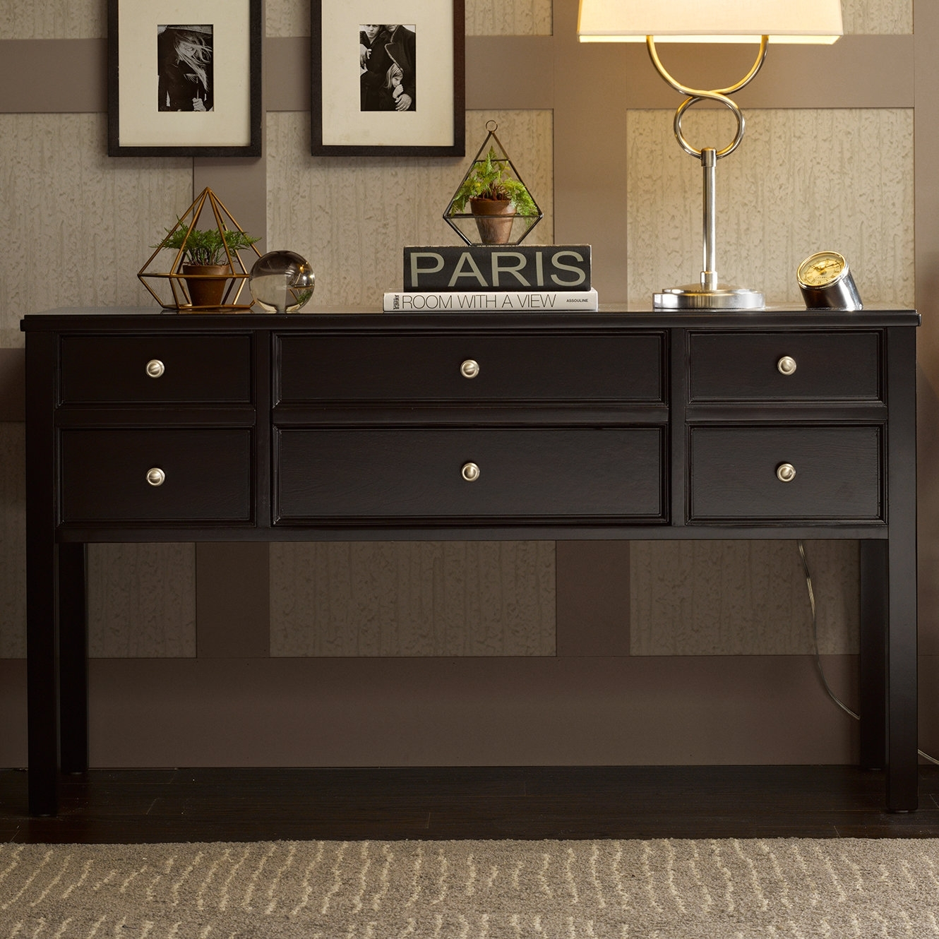 Madison Park Signature Madison Console Table & Reviews | Wayfair intended for Leven Wine Sideboards (Image 17 of 30)