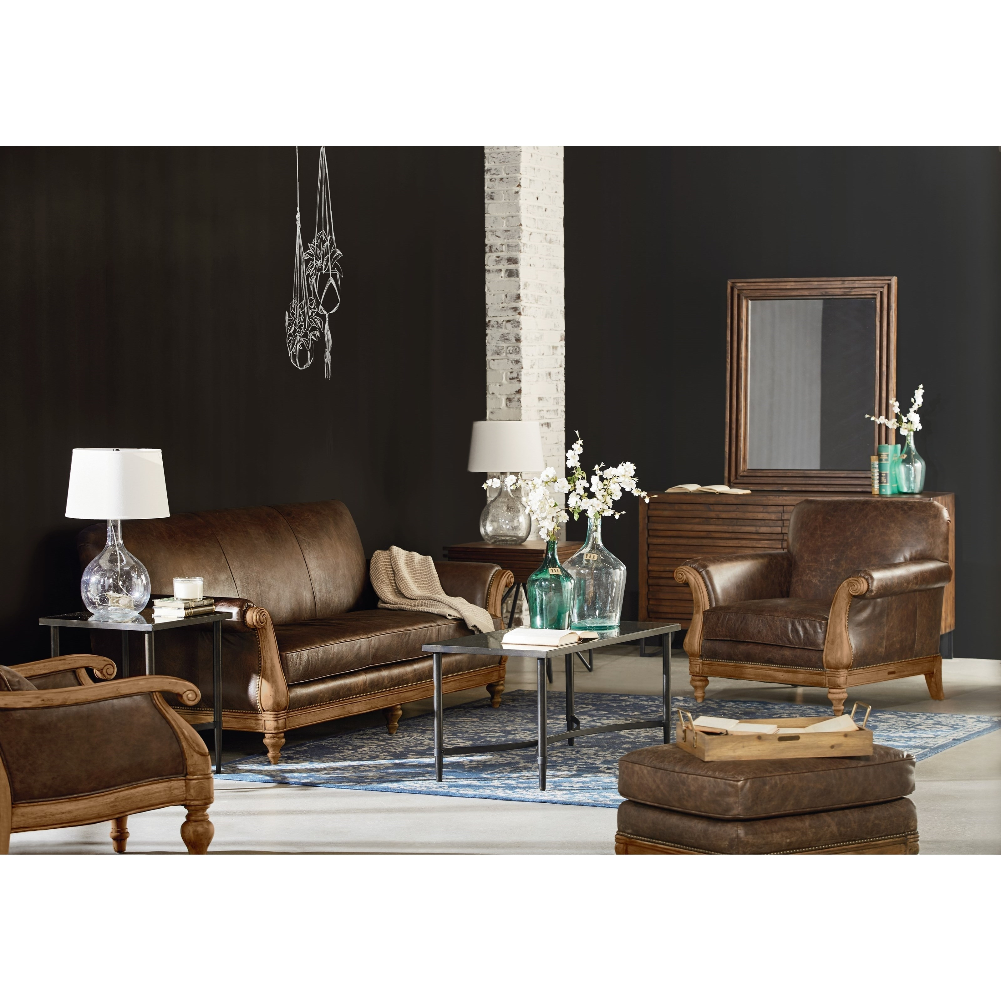 Magnolia Furniture Leather Sofa | Baci Living Room For Magnolia Home Homestead 4 Piece Sectionals By Joanna Gaines (View 26 of 30)