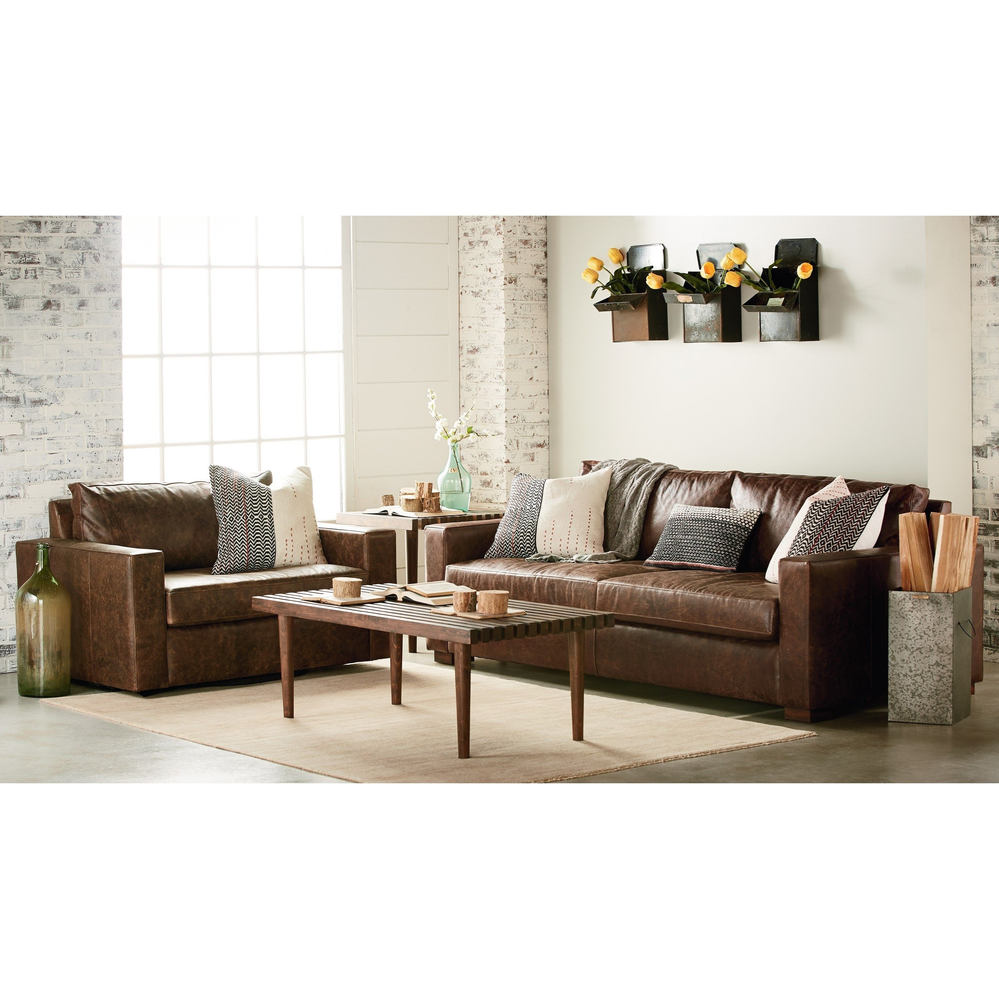 Magnolia Furniture Leather Sofa | Baci Living Room For Magnolia Home Homestead 4 Piece Sectionals By Joanna Gaines (View 21 of 30)