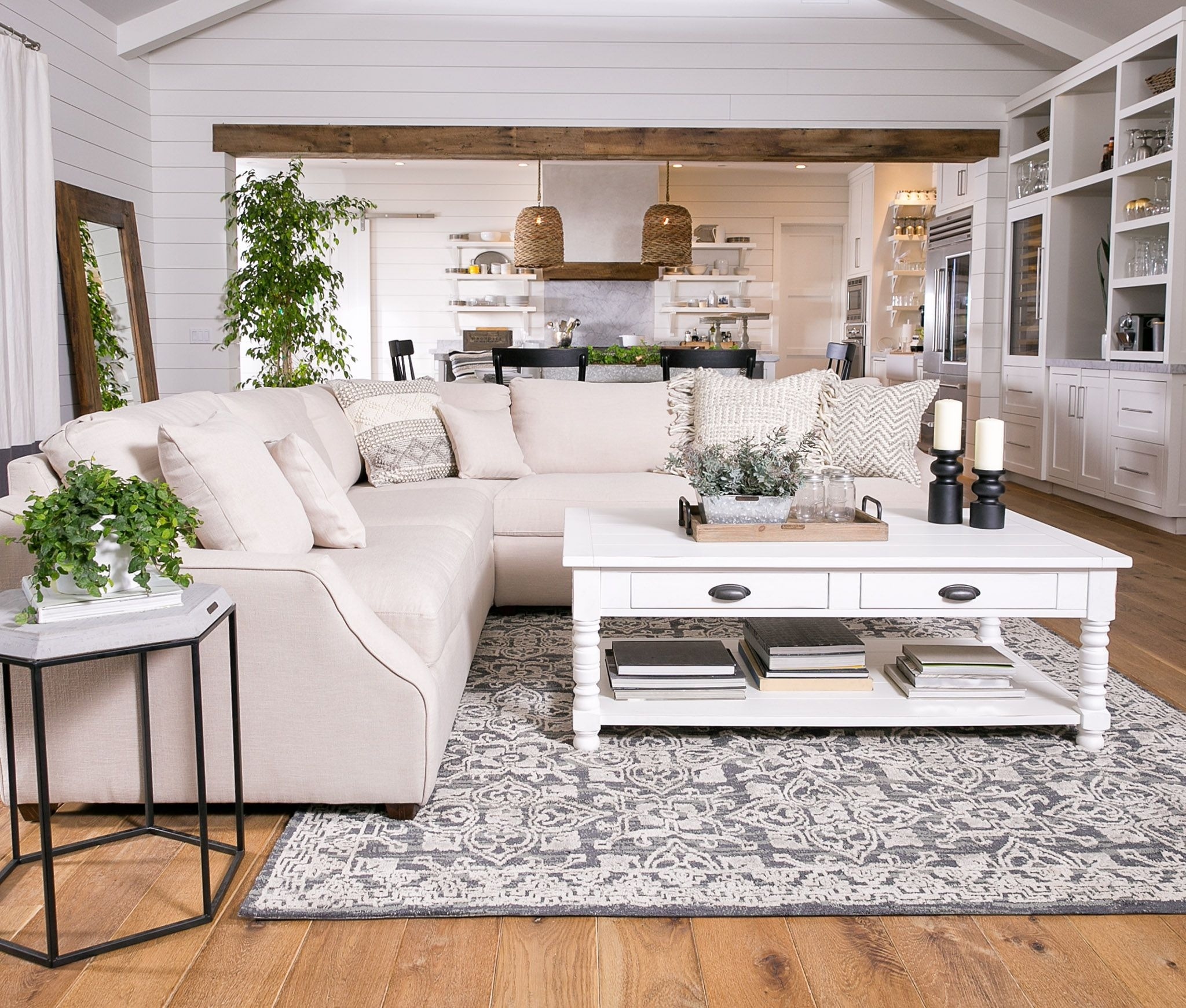 Magnolia Home Homestead 3 Piece Sectionaljoanna Gaines regarding Magnolia Home Homestead 3 Piece Sectionals by Joanna Gaines (Image 17 of 30)