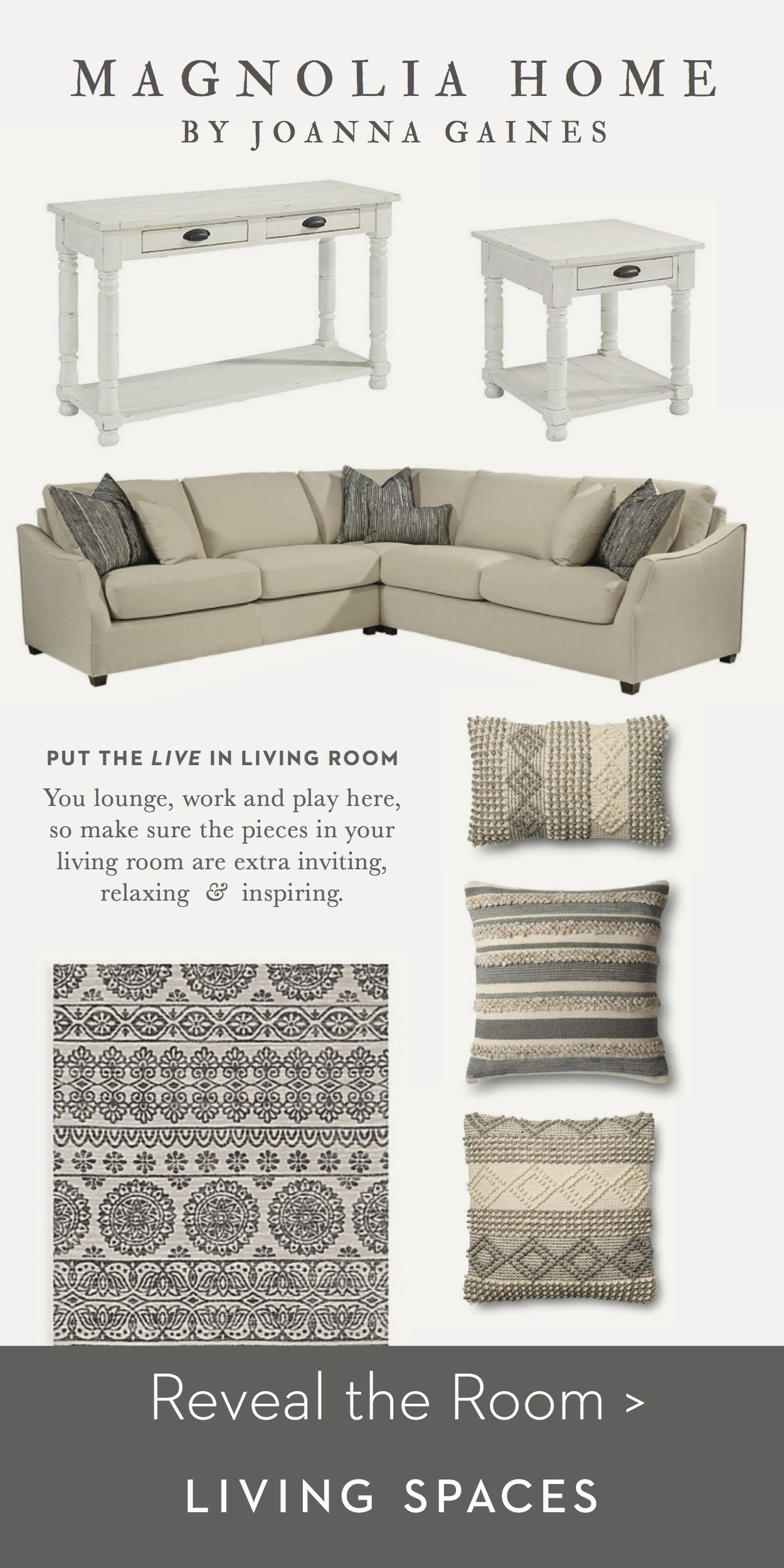 Magnolia Homejoanna Gaines| Living Room Inspiration (View 9 of 30)