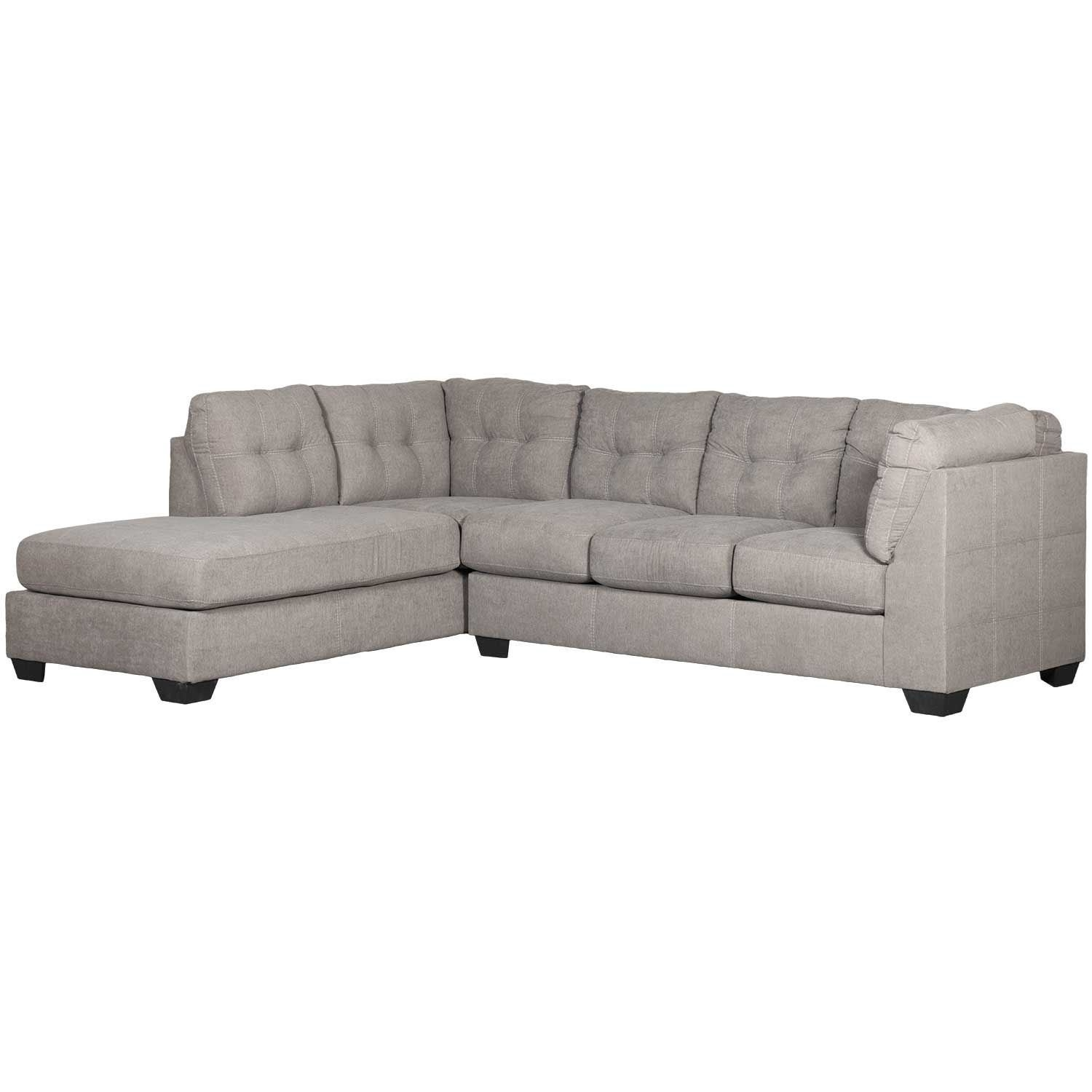 Maier Charcoal 2 Piece Sectional With Laf Chaise | 4520016/67 for Arrowmask 2 Piece Sectionals With Sleeper & Right Facing Chaise (Image 17 of 30)