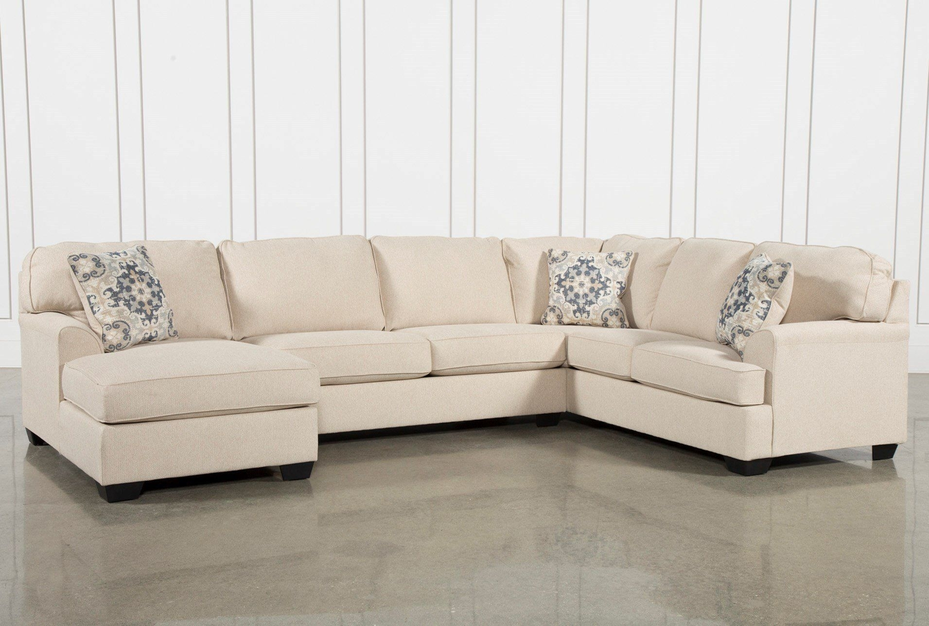 Malbry Point 3 Piece Sectional W/laf Chaise | Tempe Condo throughout Blaine 4 Piece Sectionals (Image 18 of 30)