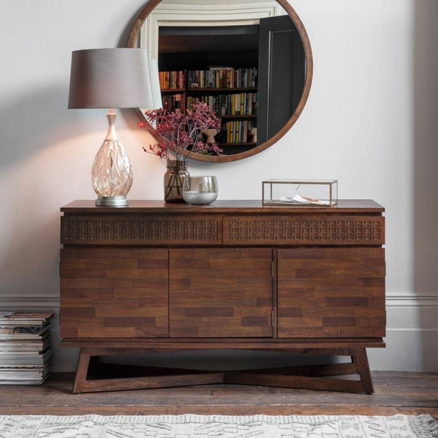 Featured Photo of Mandara 3 Drawer 2 Door Sideboards