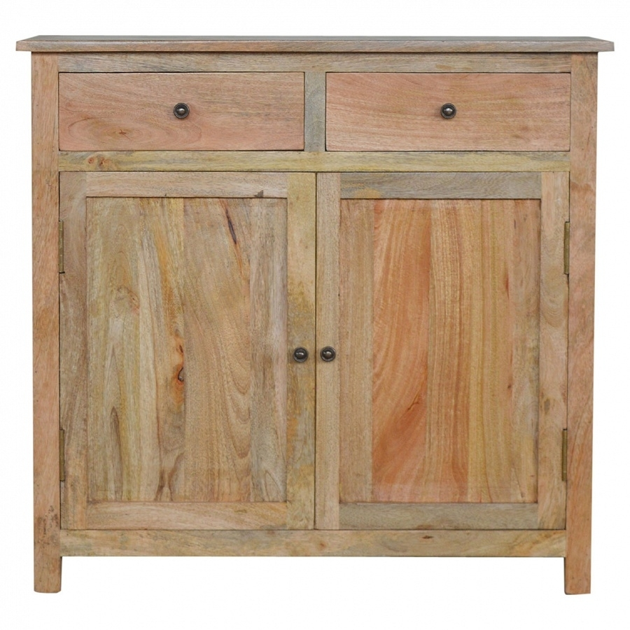 Mango Hill Sideboard With 2 Drawers And 2 Cabinets | The Haven Home pertaining to Mango Wood Grey 4-Drawer 4-Door Sideboards (Image 15 of 30)