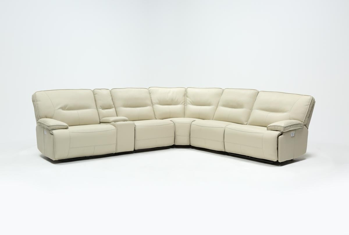 Featured Photo of Marcus Oyster 6 Piece Sectionals With Power Headrest And Usb